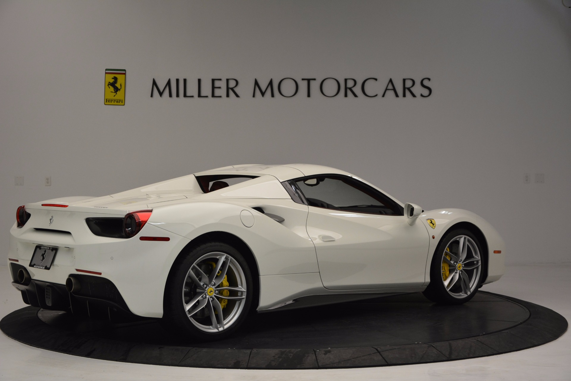 Used 2017 Ferrari 488 Spider  For Sale In Westport, CT 1296_p20