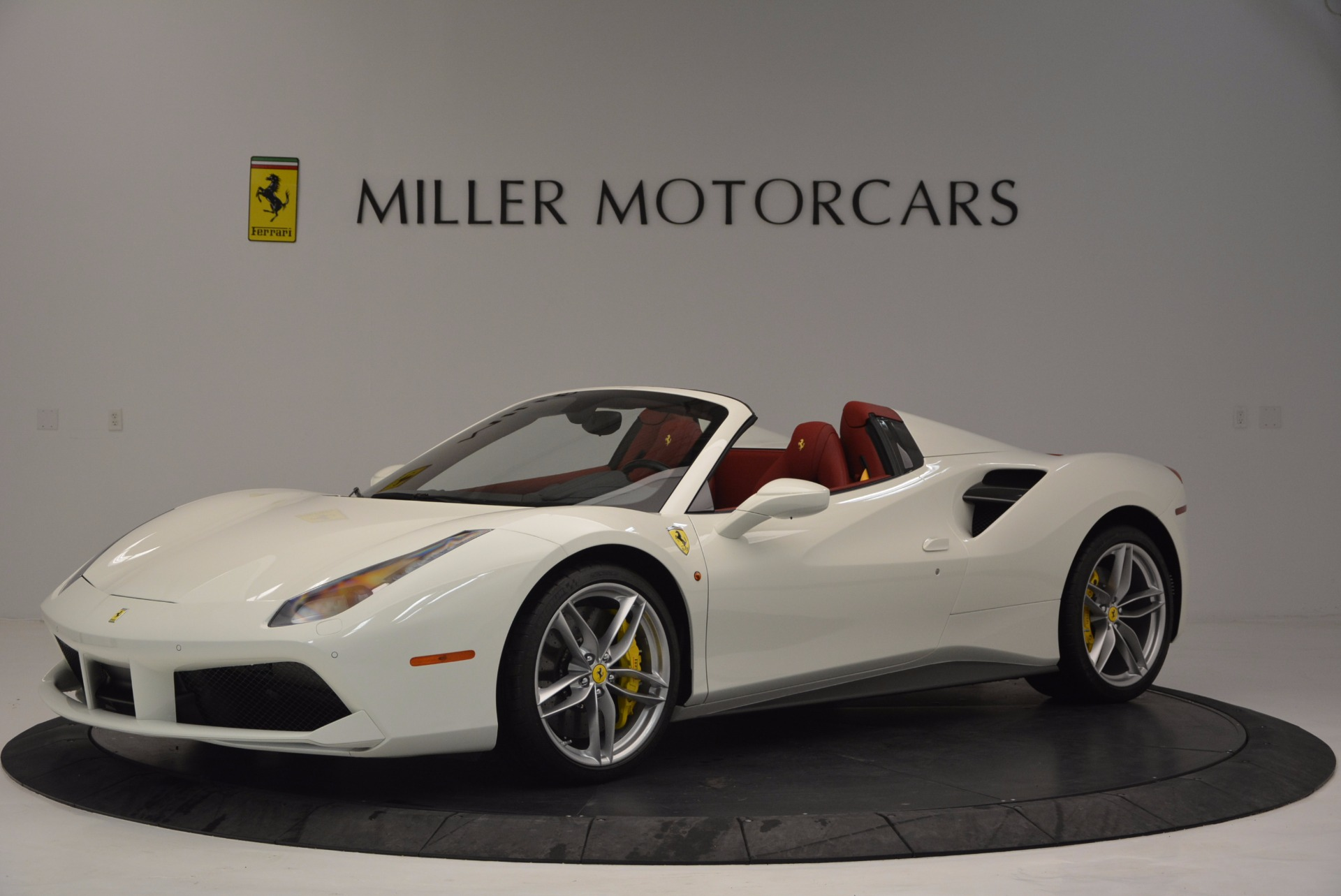 Used 2017 Ferrari 488 Spider  For Sale In Westport, CT 1296_p2