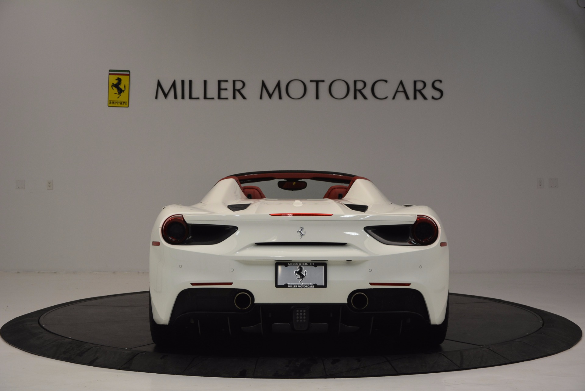 Used 2017 Ferrari 488 Spider  For Sale In Westport, CT 1296_p6