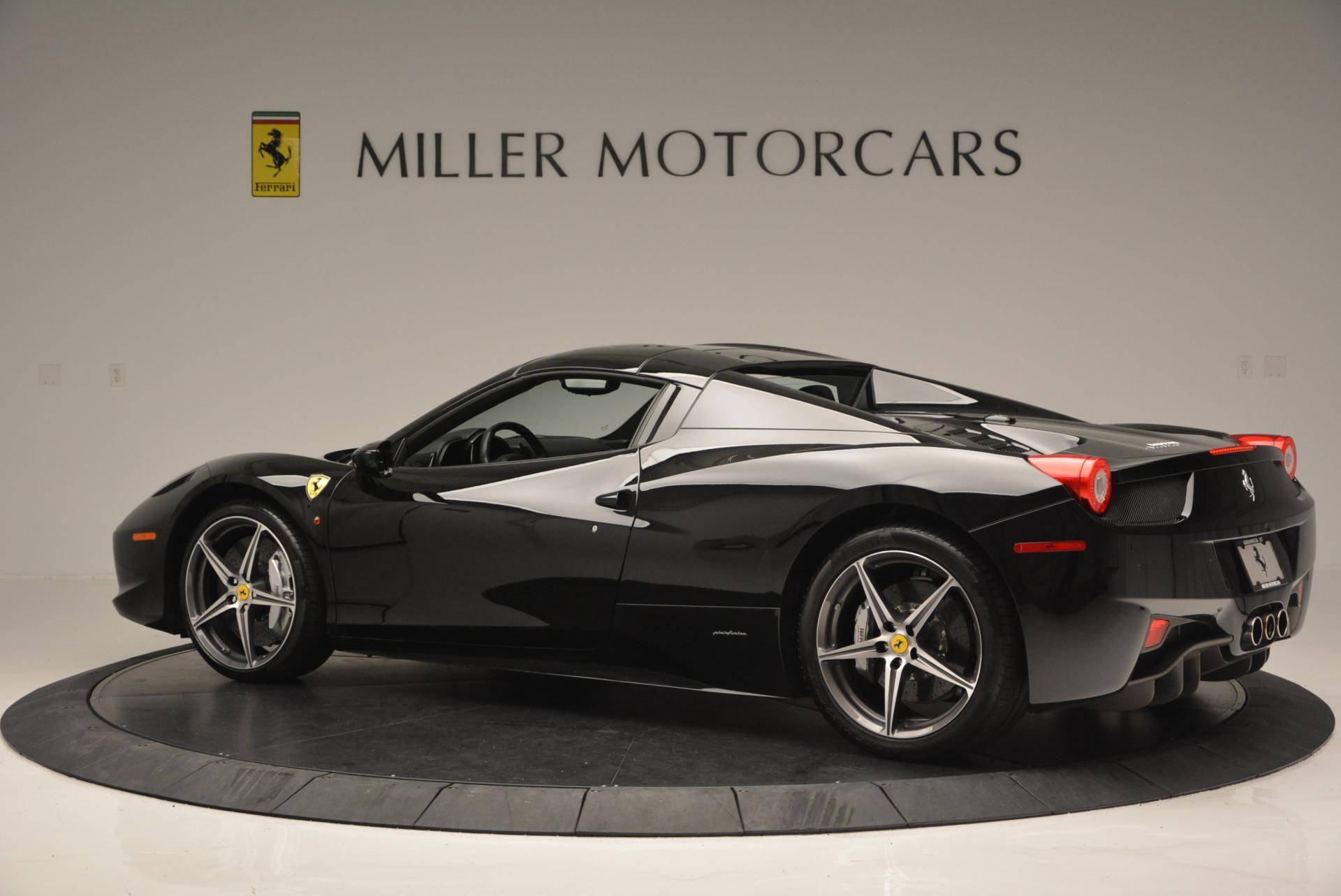 Used 2012 Ferrari 458 Spider  For Sale In Westport, CT 130_p16