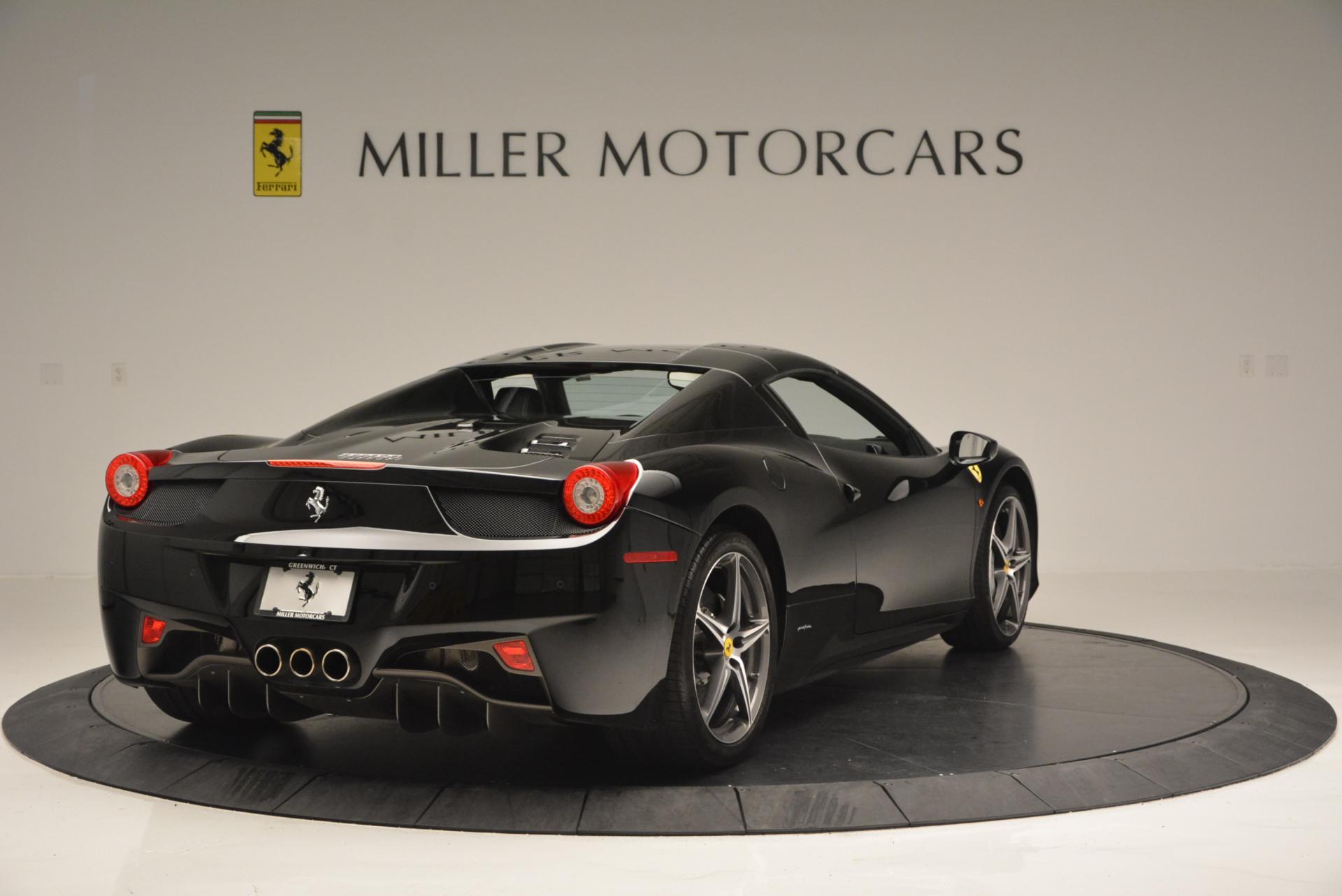 Used 2012 Ferrari 458 Spider  For Sale In Westport, CT 130_p19