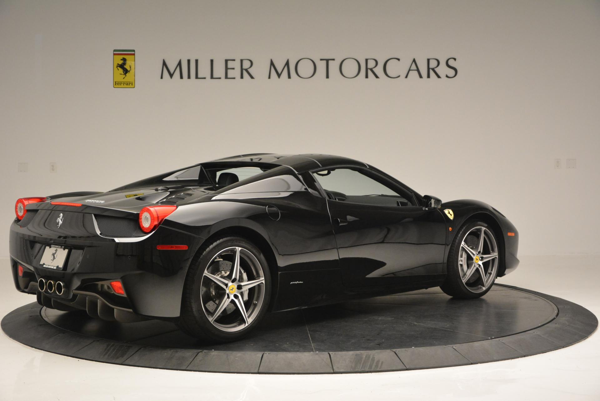 Used 2012 Ferrari 458 Spider  For Sale In Westport, CT 130_p20