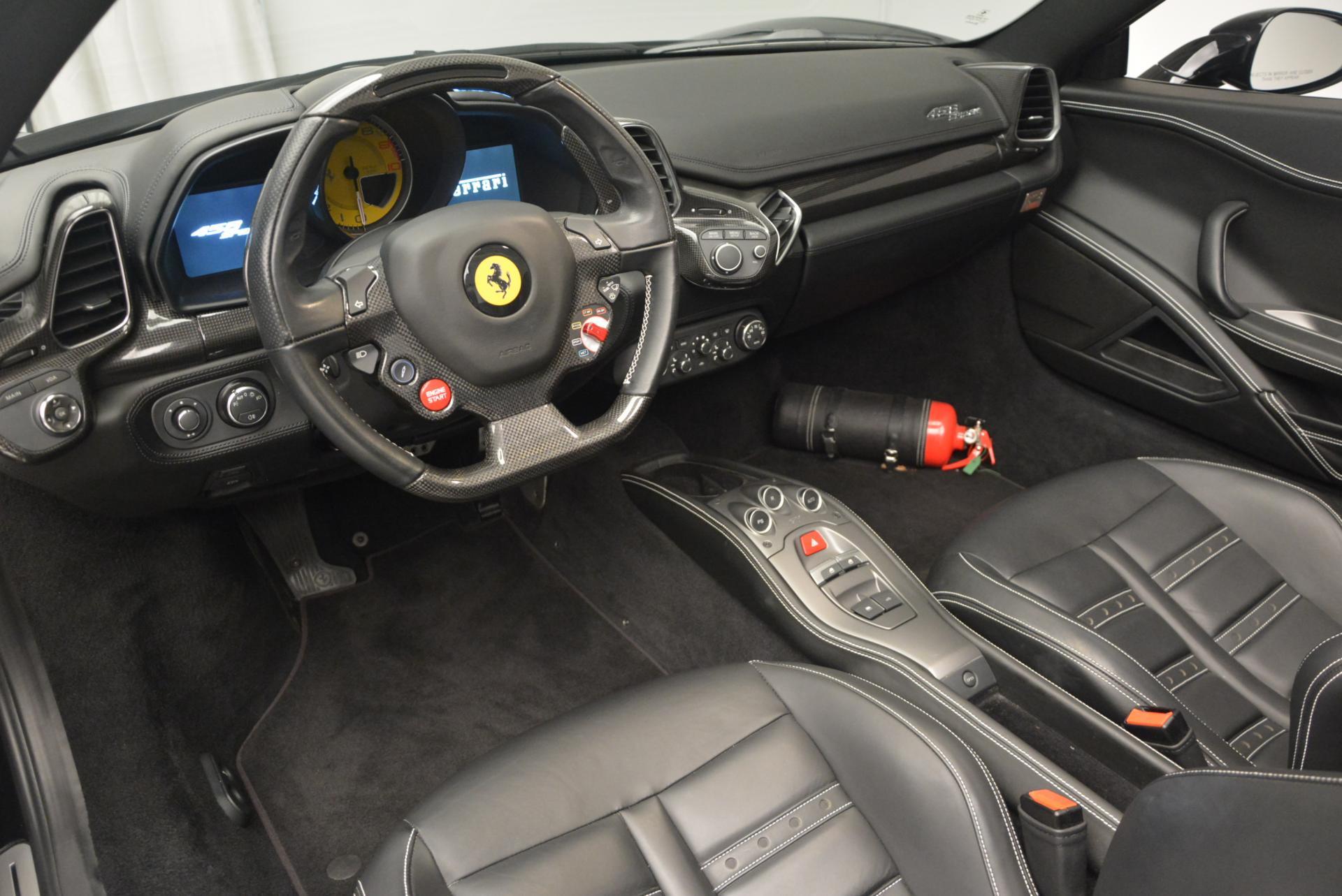 Used 2012 Ferrari 458 Spider  For Sale In Westport, CT 130_p25