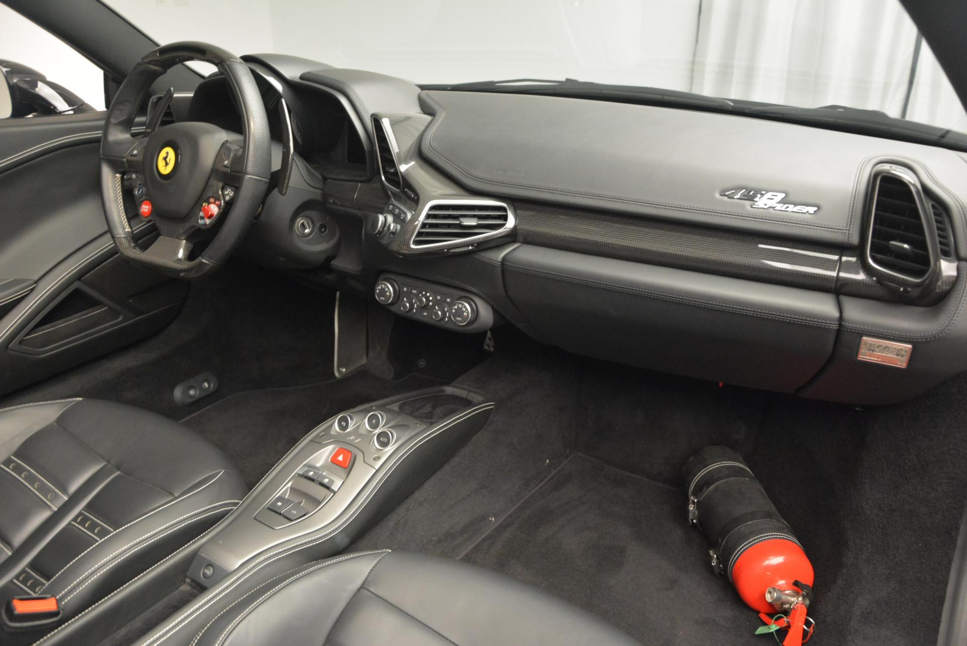 Used 2012 Ferrari 458 Spider  For Sale In Westport, CT 130_p29