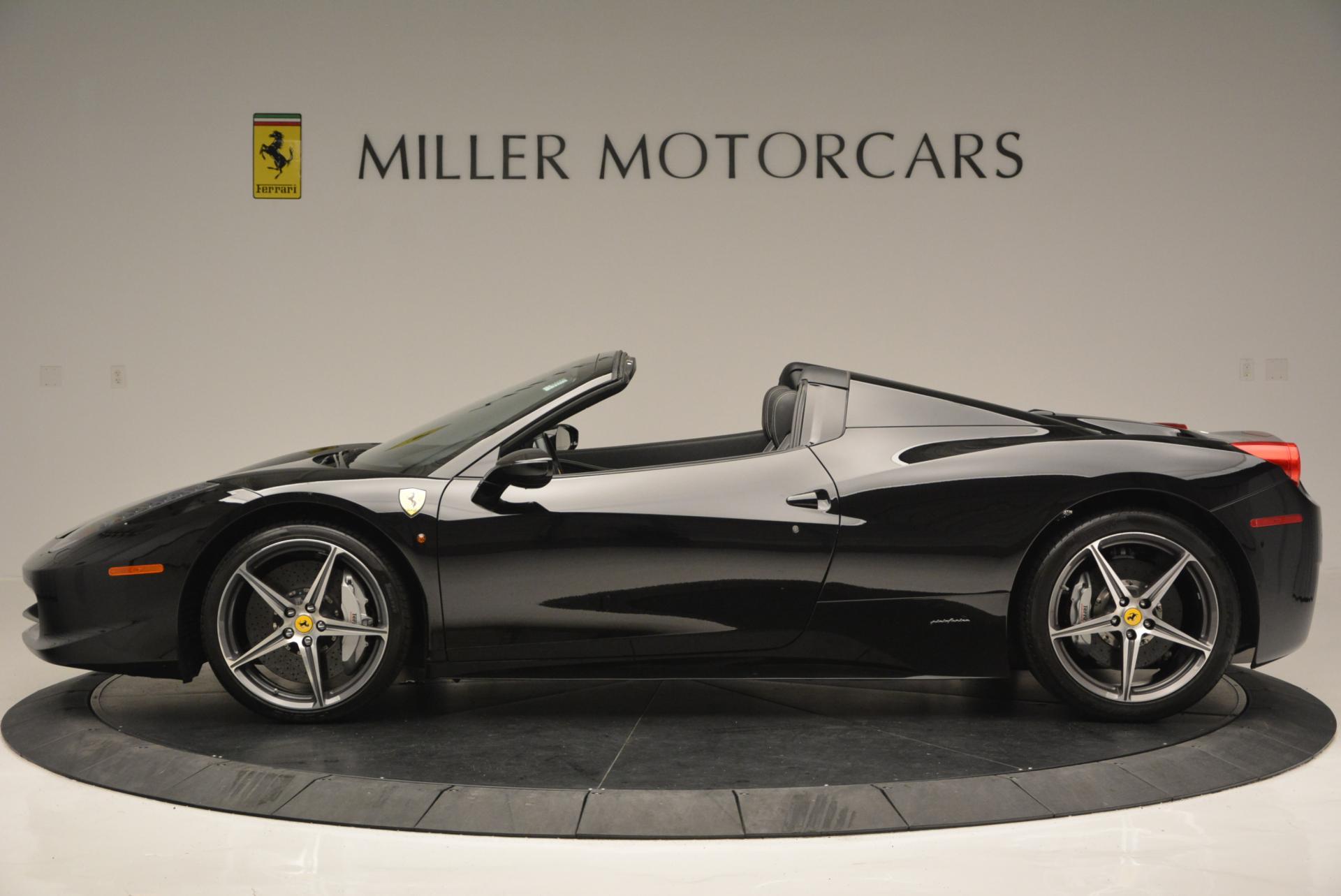 Used 2012 Ferrari 458 Spider  For Sale In Westport, CT 130_p3
