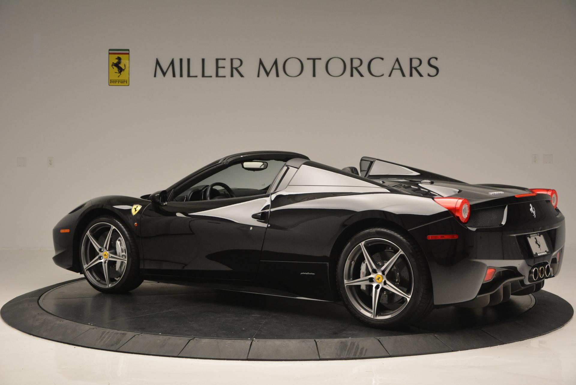 Used 2012 Ferrari 458 Spider  For Sale In Westport, CT 130_p4