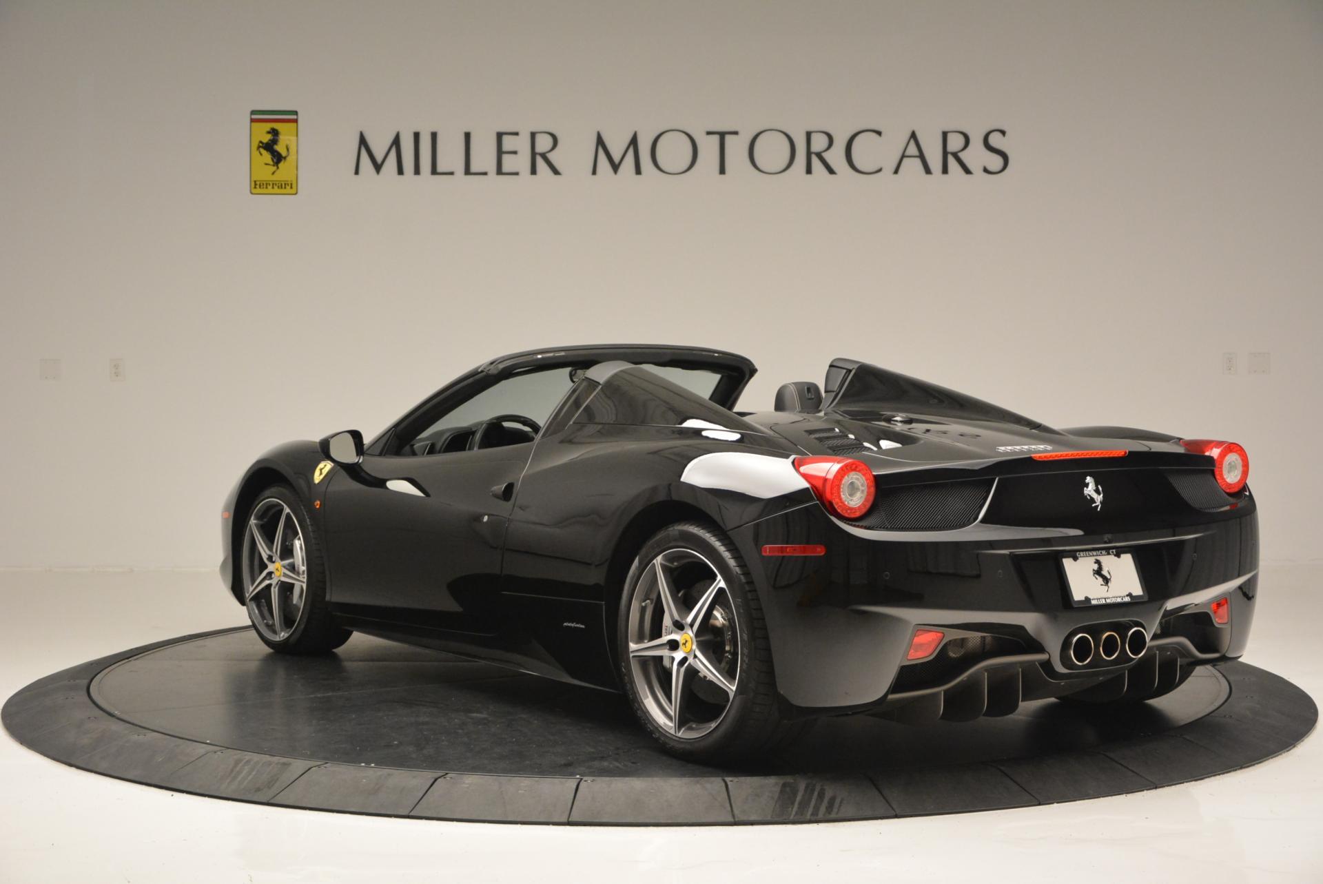 Used 2012 Ferrari 458 Spider  For Sale In Westport, CT 130_p5