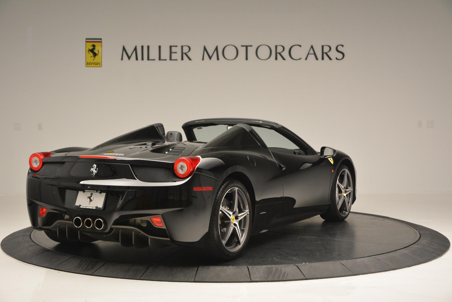 Used 2012 Ferrari 458 Spider  For Sale In Westport, CT 130_p7