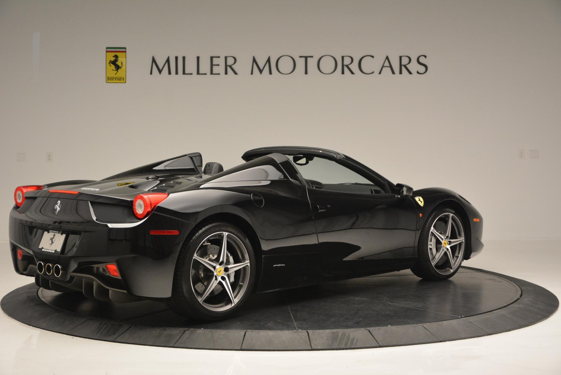 Used 2012 Ferrari 458 Spider  For Sale In Westport, CT 130_p8