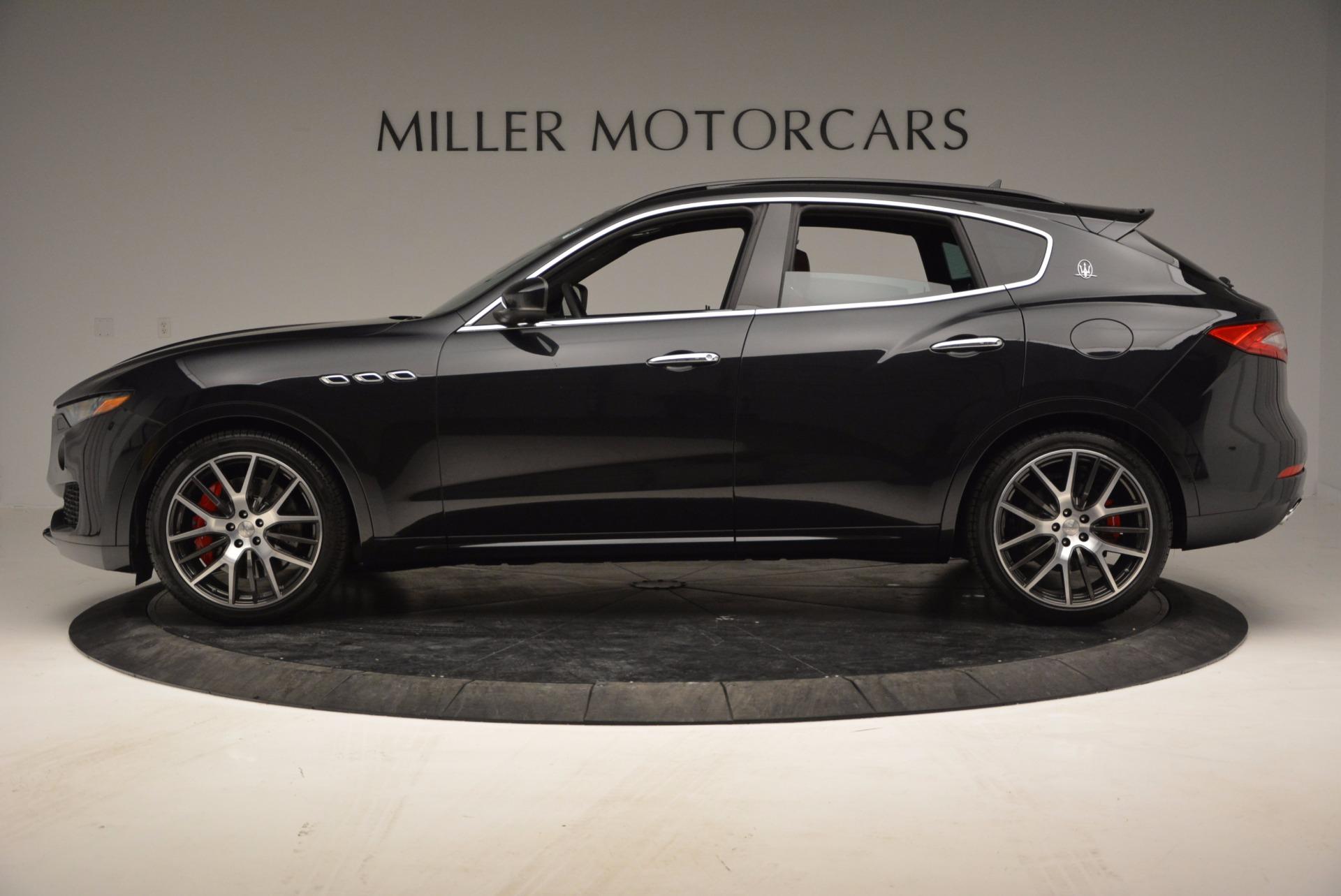 New 2017 Maserati Levante  For Sale In Westport, CT 1301_p3