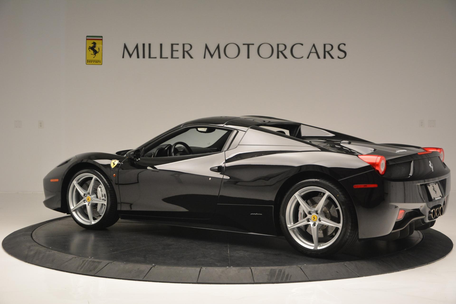 Used 2013 Ferrari 458 Spider  For Sale In Westport, CT 132_p16