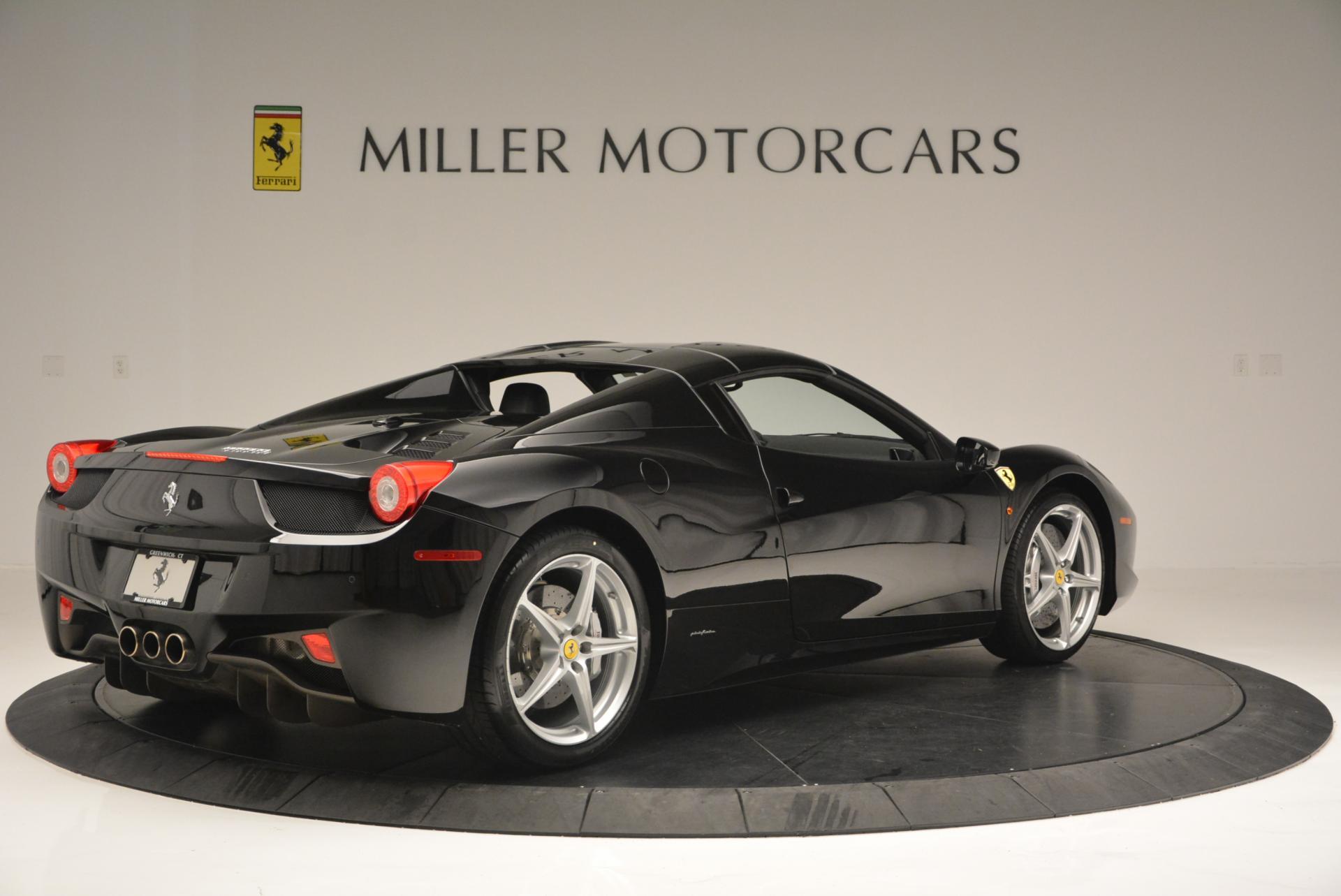 Used 2013 Ferrari 458 Spider  For Sale In Westport, CT 132_p20
