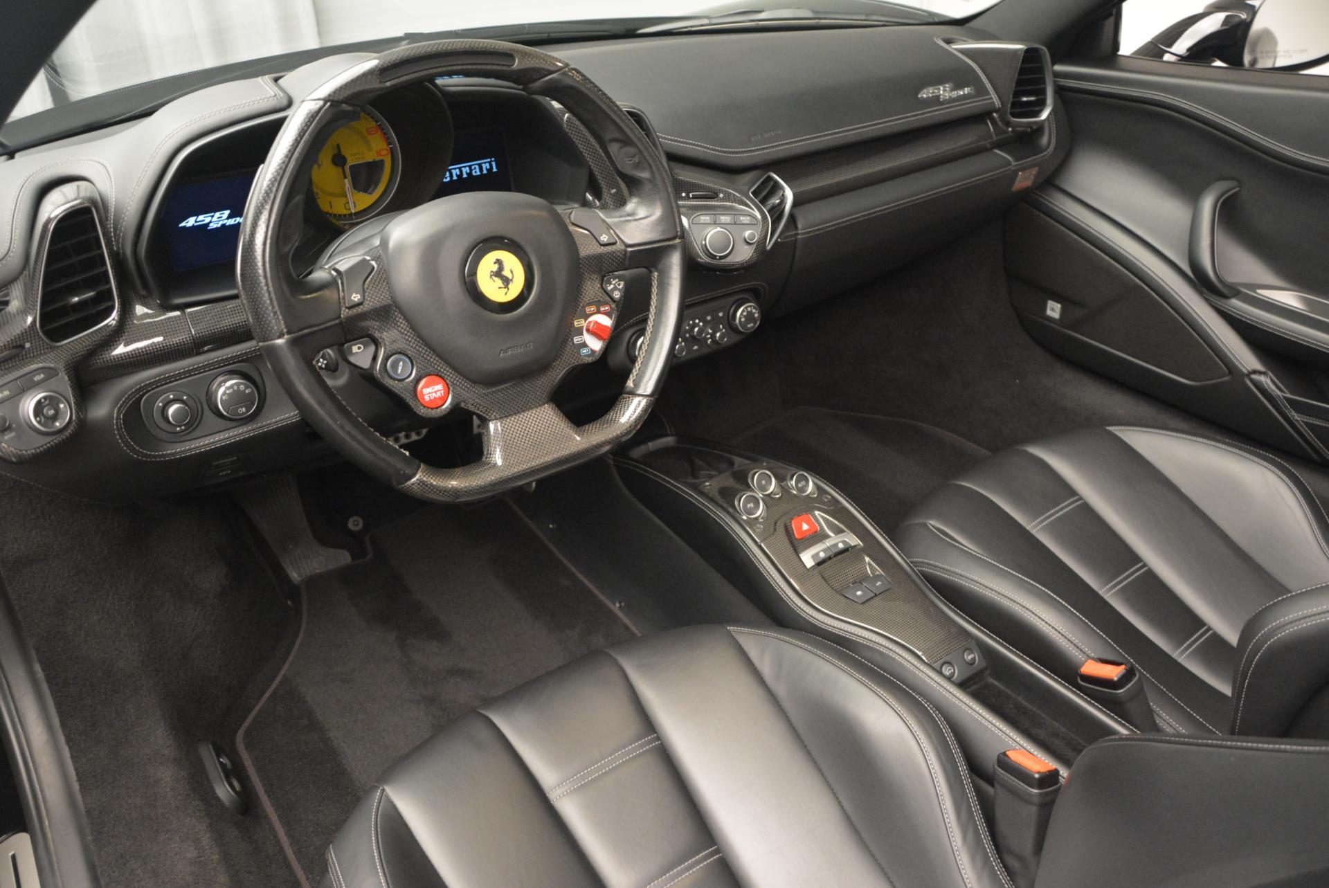 Used 2013 Ferrari 458 Spider  For Sale In Westport, CT 132_p25