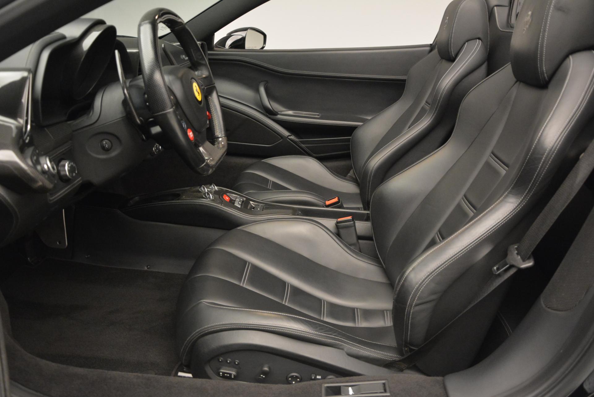 Used 2013 Ferrari 458 Spider  For Sale In Westport, CT 132_p26