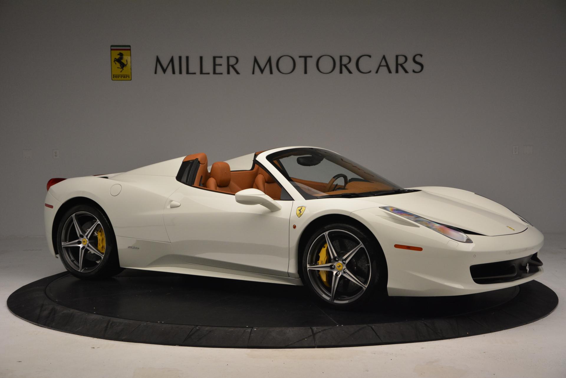 Used 2012 Ferrari 458 Spider  For Sale In Westport, CT 133_p10