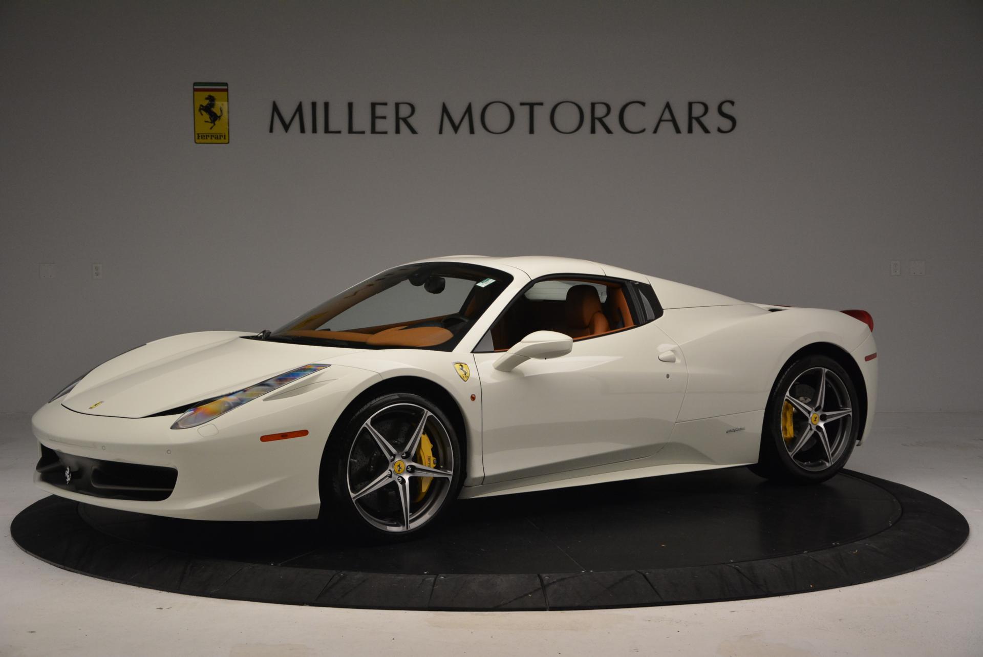Used 2012 Ferrari 458 Spider  For Sale In Westport, CT 133_p14