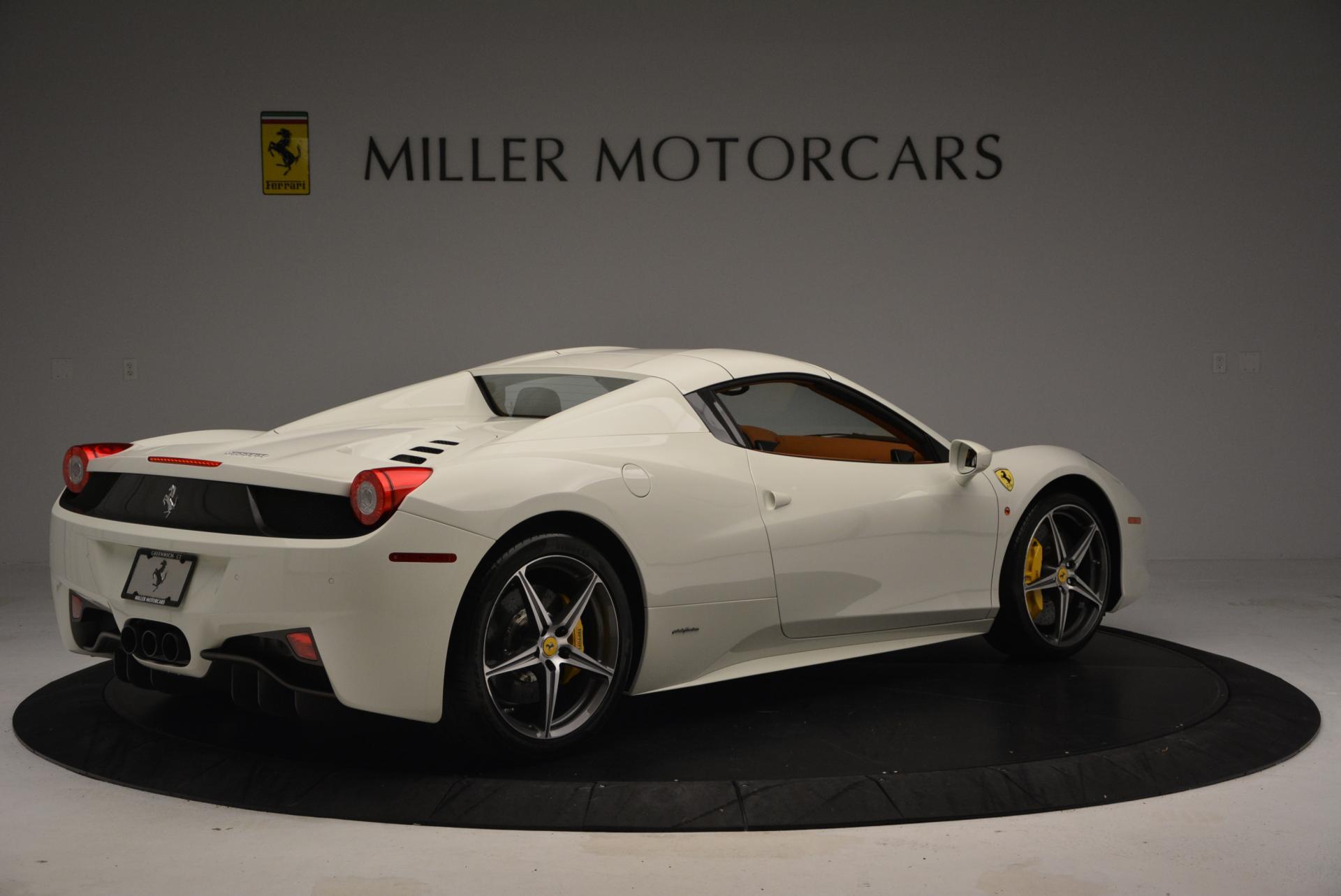 Used 2012 Ferrari 458 Spider  For Sale In Westport, CT 133_p20