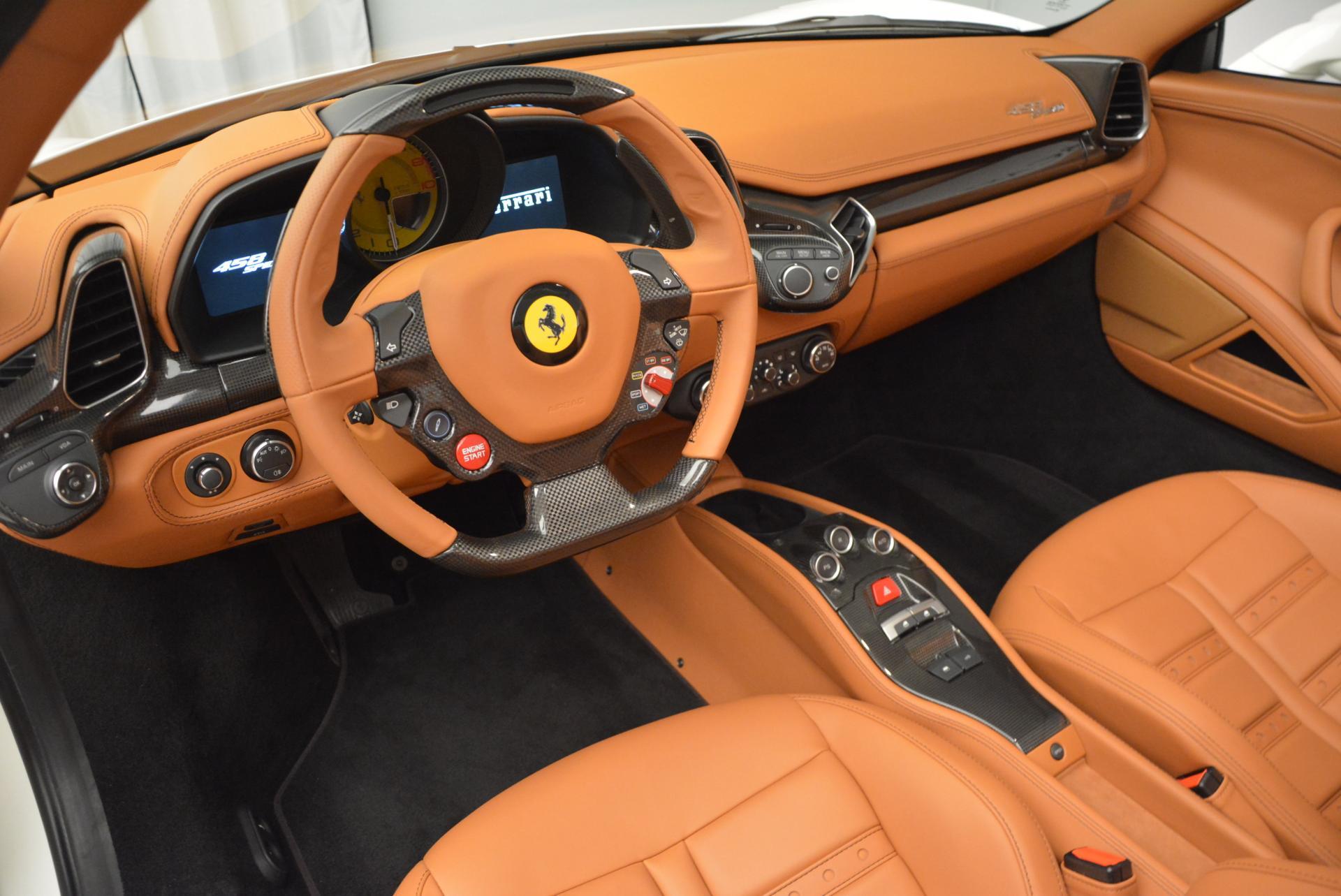 Used 2012 Ferrari 458 Spider  For Sale In Westport, CT 133_p25