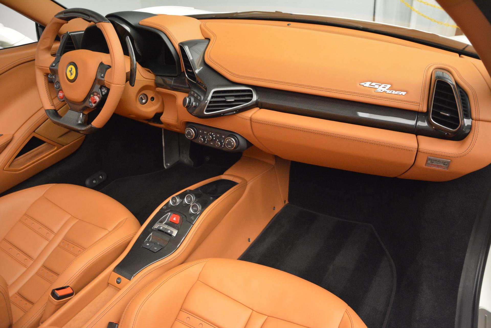 Used 2012 Ferrari 458 Spider  For Sale In Westport, CT 133_p29