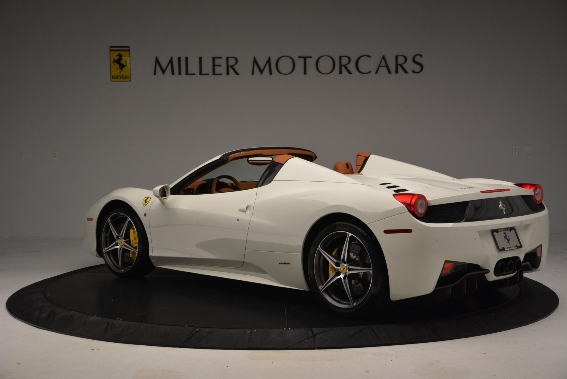 Used 2012 Ferrari 458 Spider  For Sale In Westport, CT 133_p5