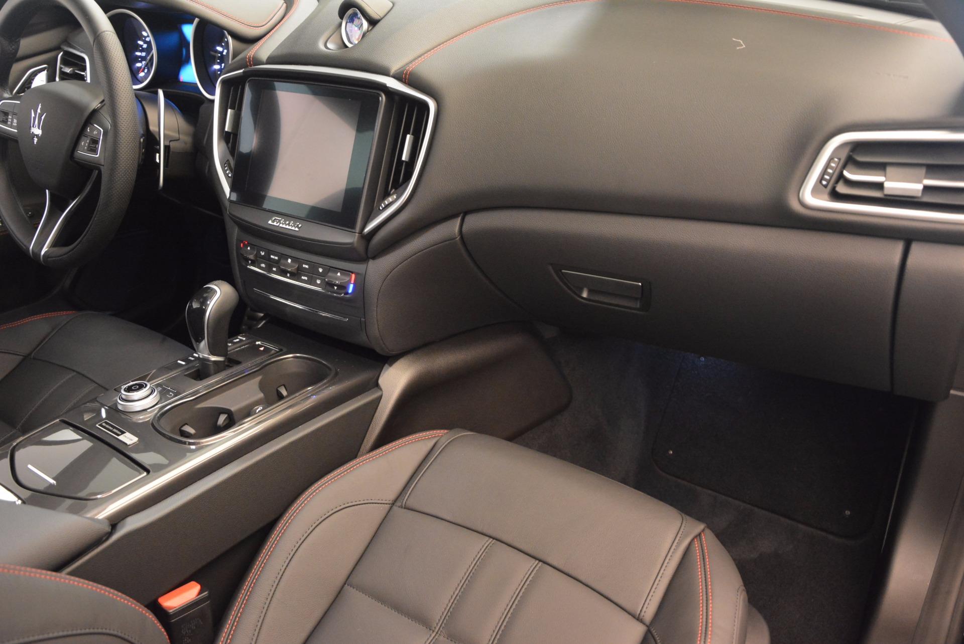 New 2017 Maserati Ghibli SQ4 S Q4 Nerissimo Edition For Sale In Westport, CT 1334_p15