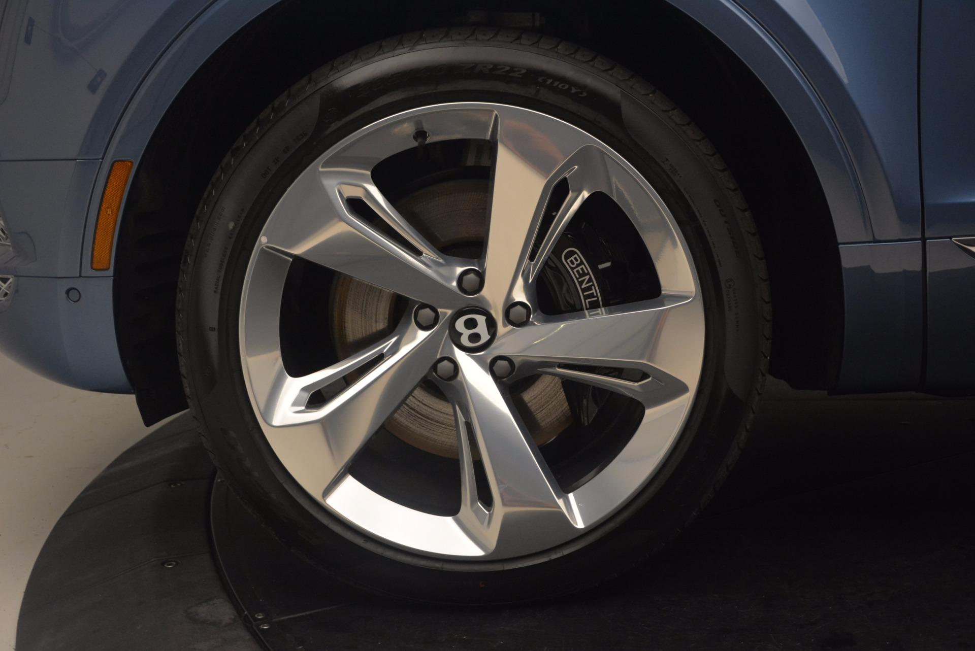 New 2018 Bentley Bentayga  For Sale In Westport, CT 1342_p19