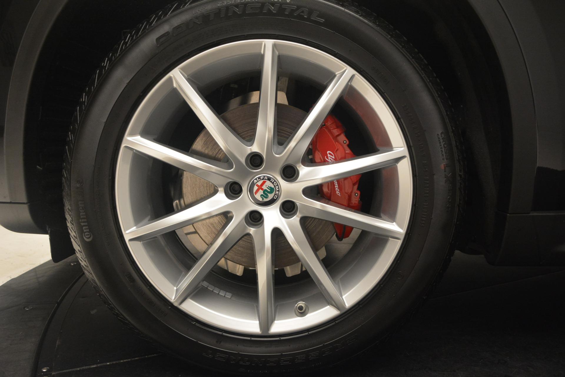 New 2018 Alfa Romeo Stelvio Ti Q4 For Sale In Westport, CT 1351_p26