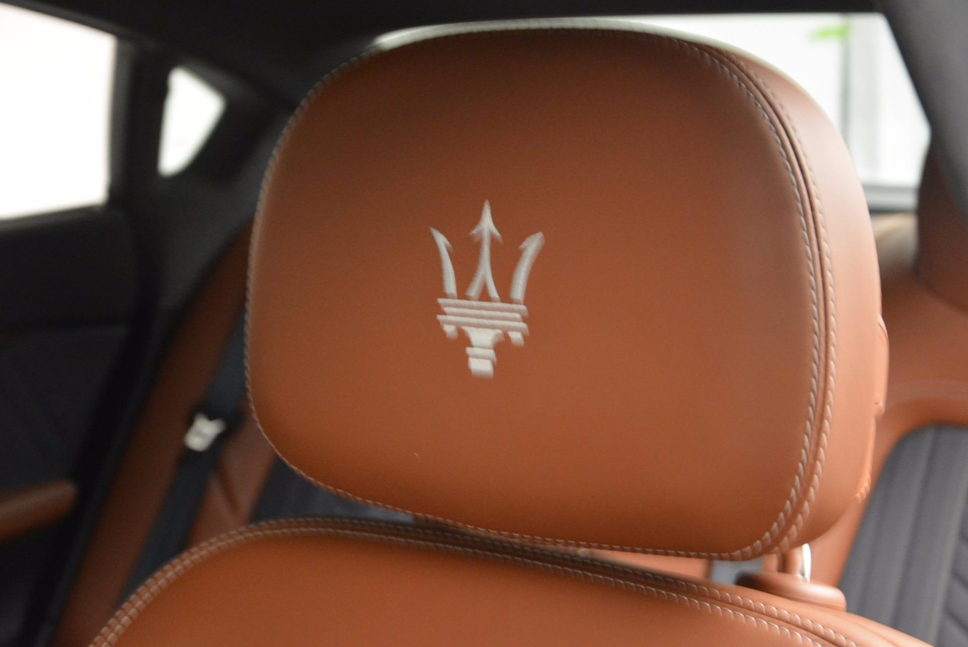 New 2017 Maserati Quattroporte S Q4 GranLusso For Sale In Westport, CT 1354_p19