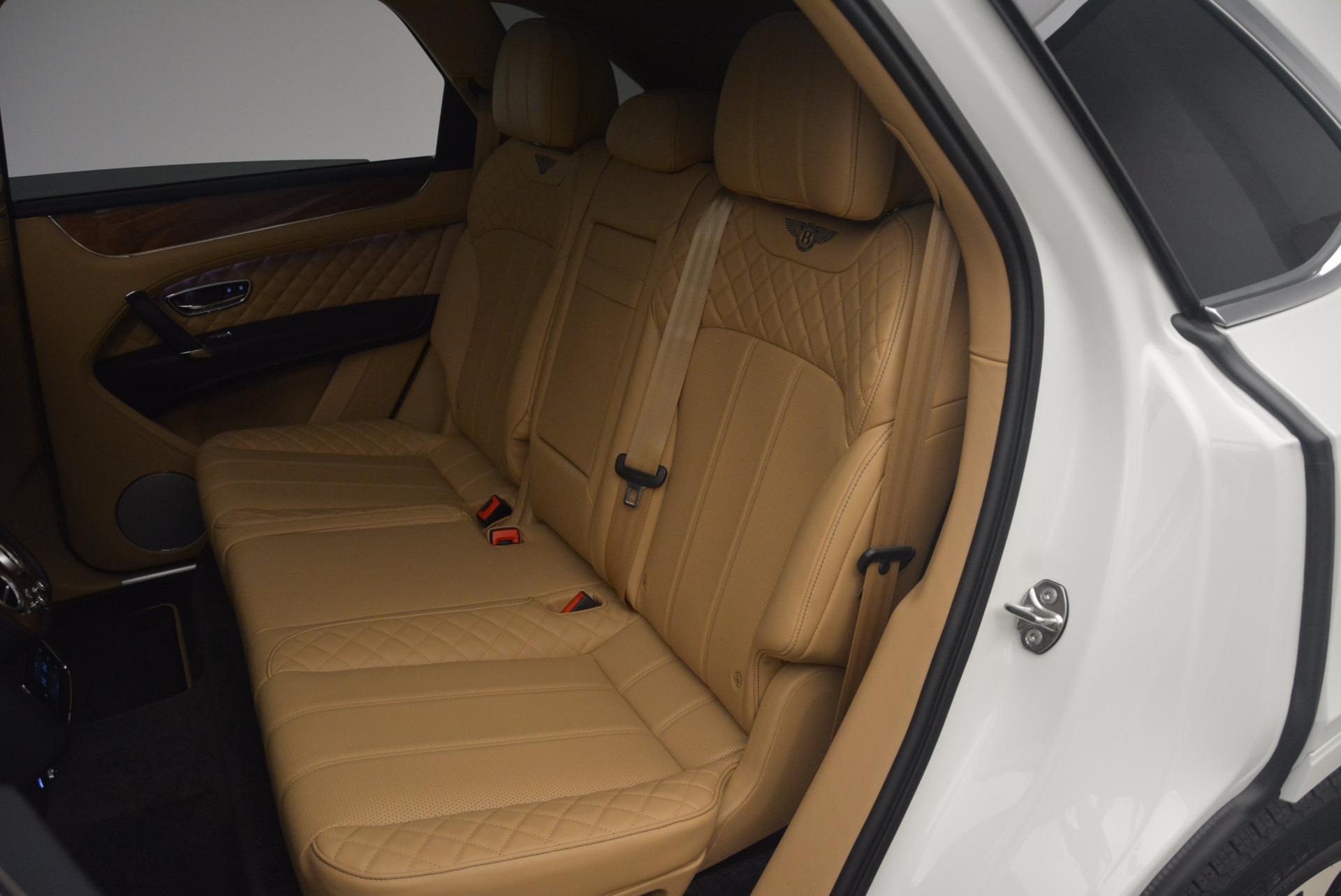New 2018 Bentley Bentayga W12 Signature For Sale In Westport, CT 1358_p22