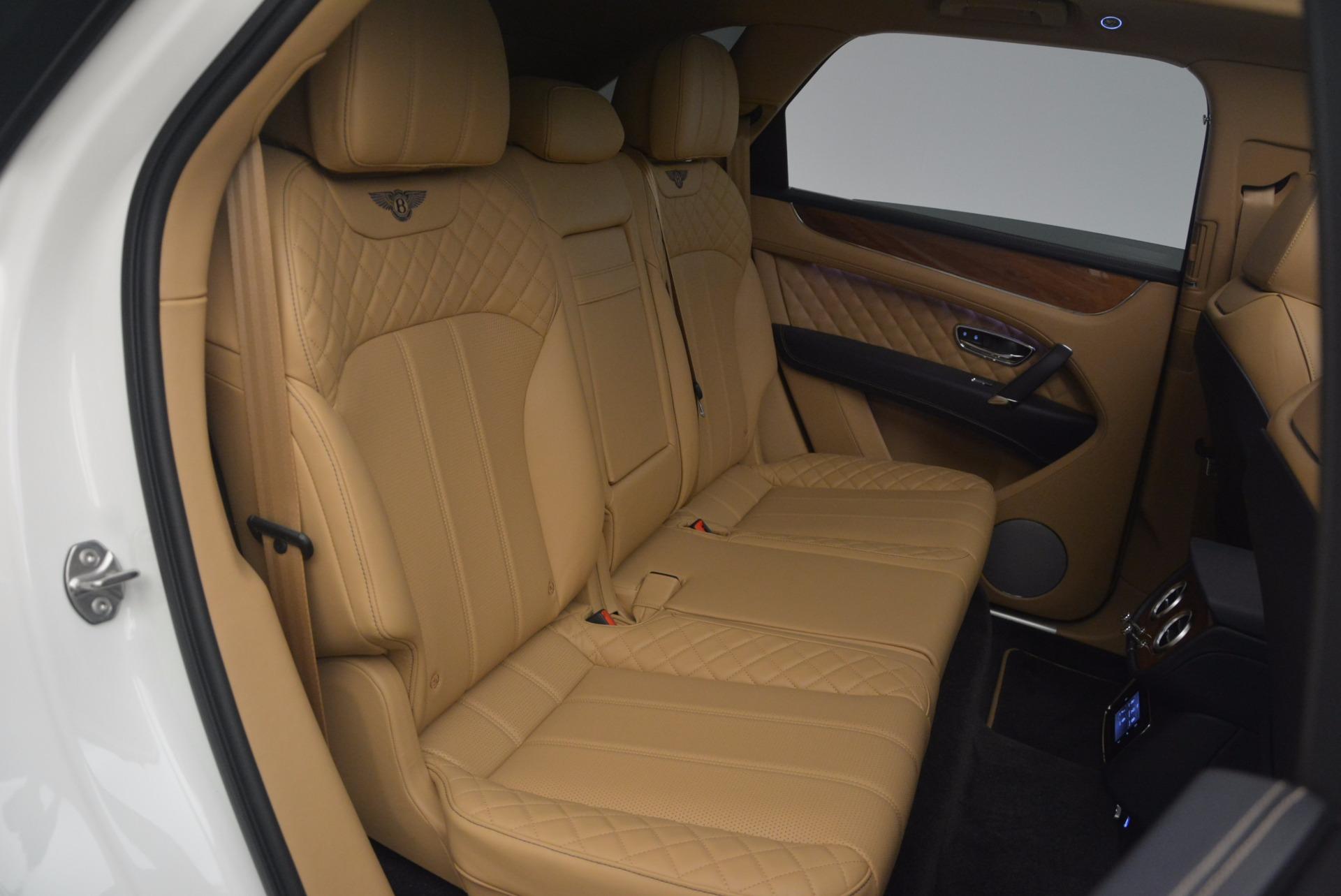 New 2018 Bentley Bentayga W12 Signature For Sale In Westport, CT 1358_p25
