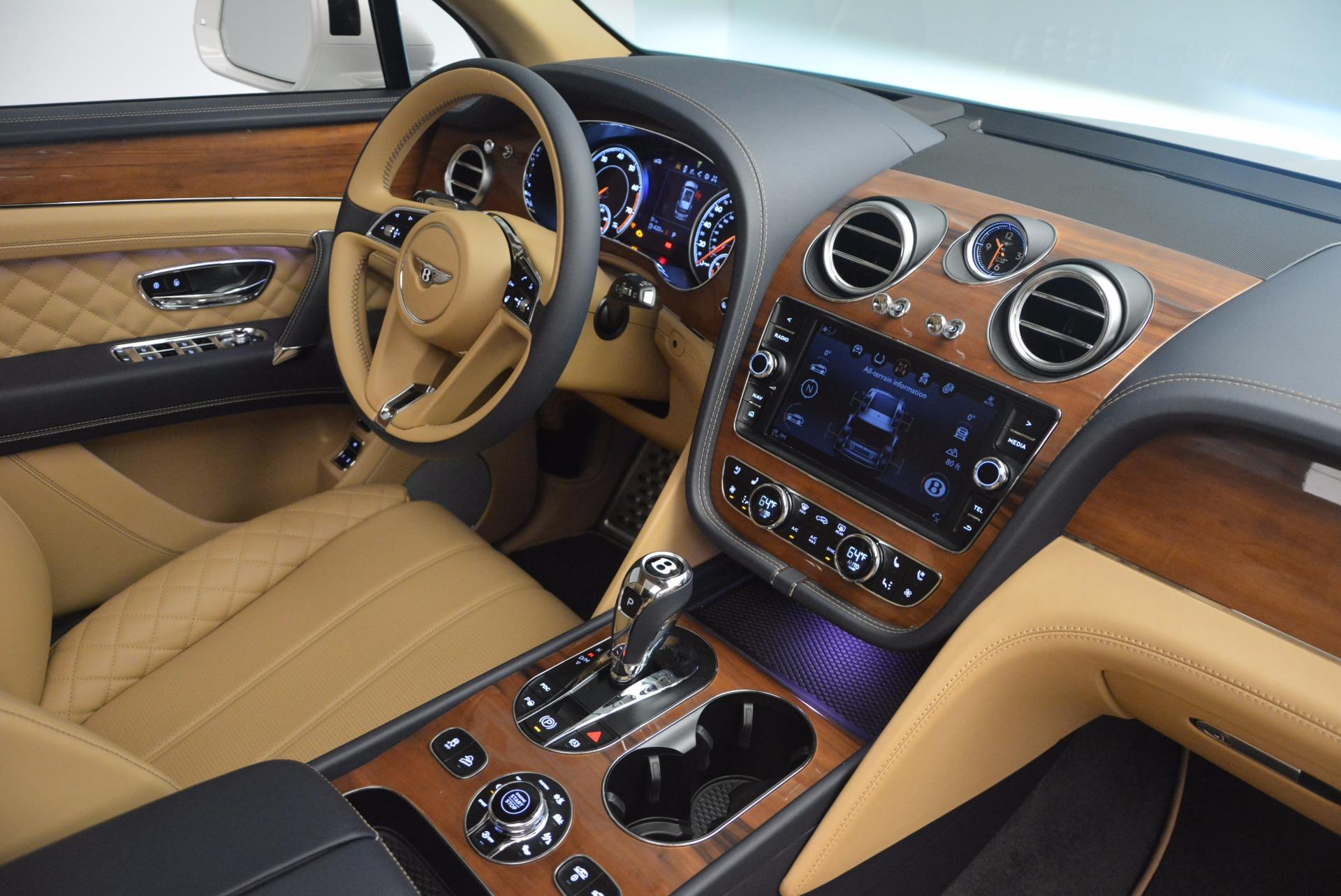 New 2018 Bentley Bentayga W12 Signature For Sale In Westport, CT 1358_p28