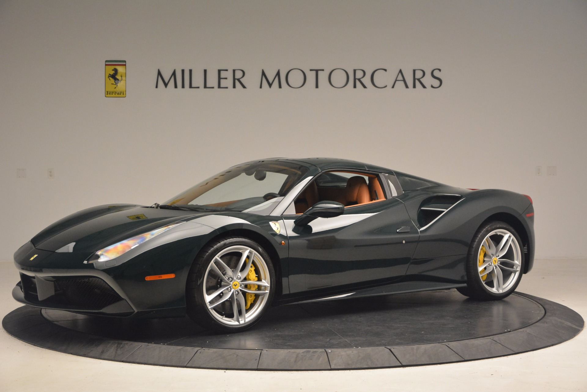 Used 2016 Ferrari 488 Spider  For Sale In Westport, CT 1361_p14