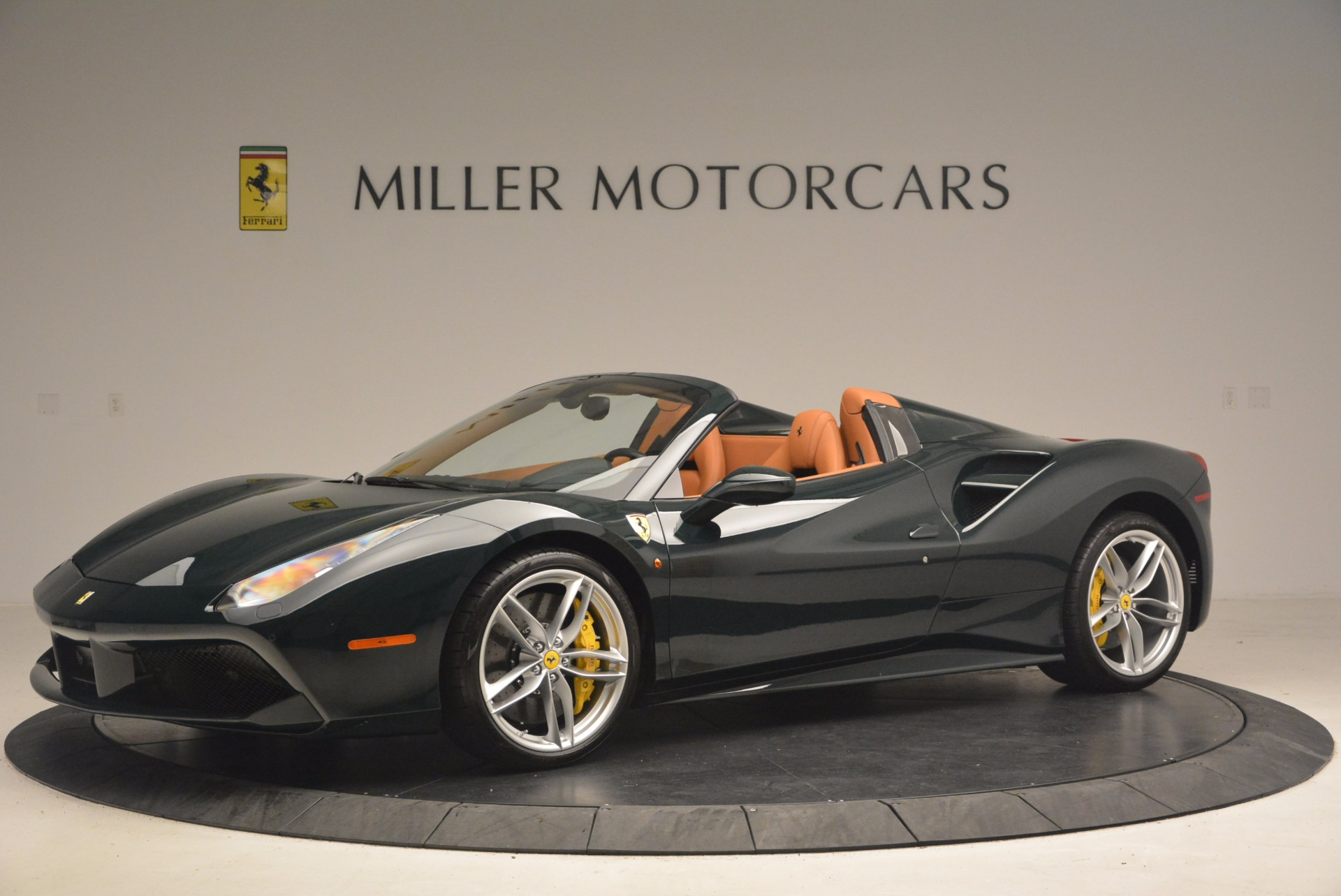 Used 2016 Ferrari 488 Spider  For Sale In Westport, CT 1361_p2