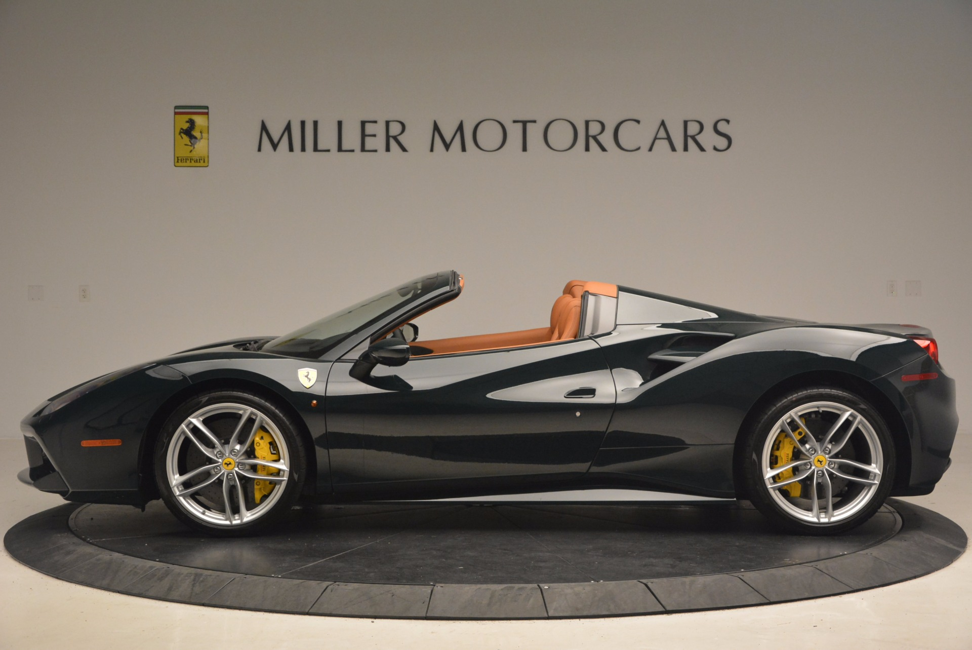 Used 2016 Ferrari 488 Spider  For Sale In Westport, CT 1361_p3