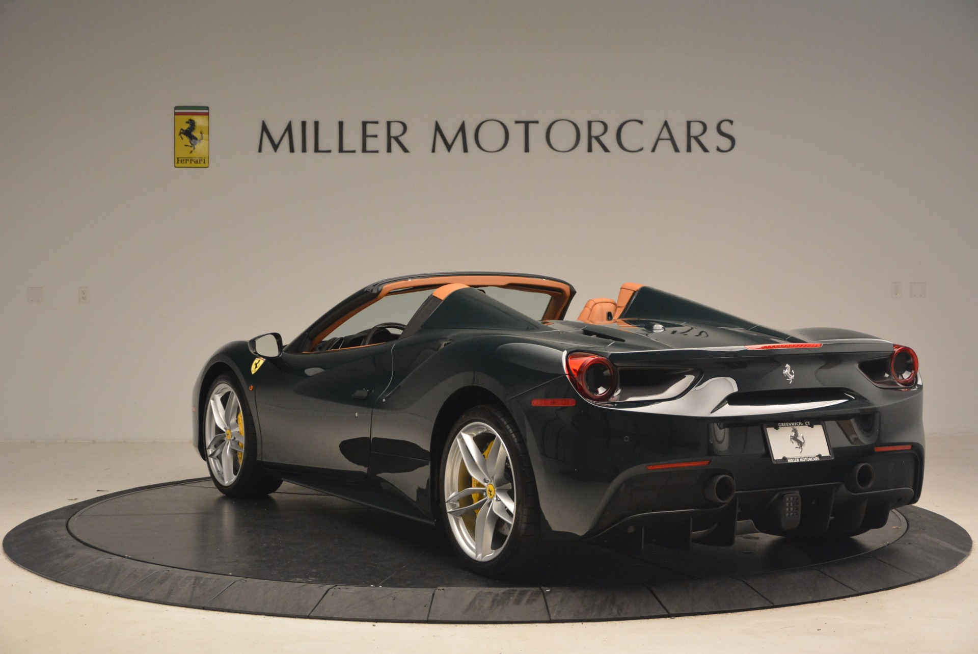 Used 2016 Ferrari 488 Spider  For Sale In Westport, CT 1361_p5