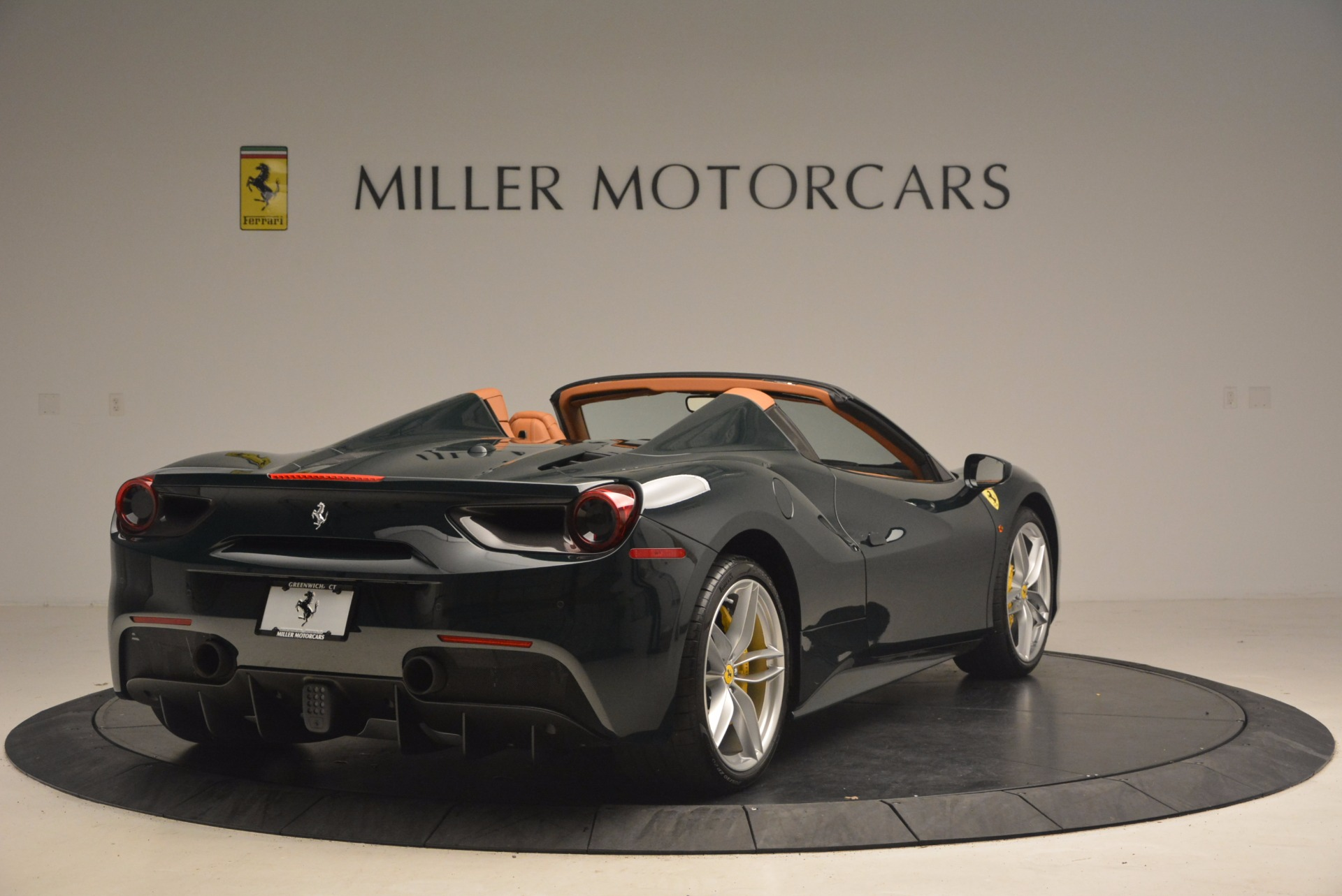 Used 2016 Ferrari 488 Spider  For Sale In Westport, CT 1361_p7