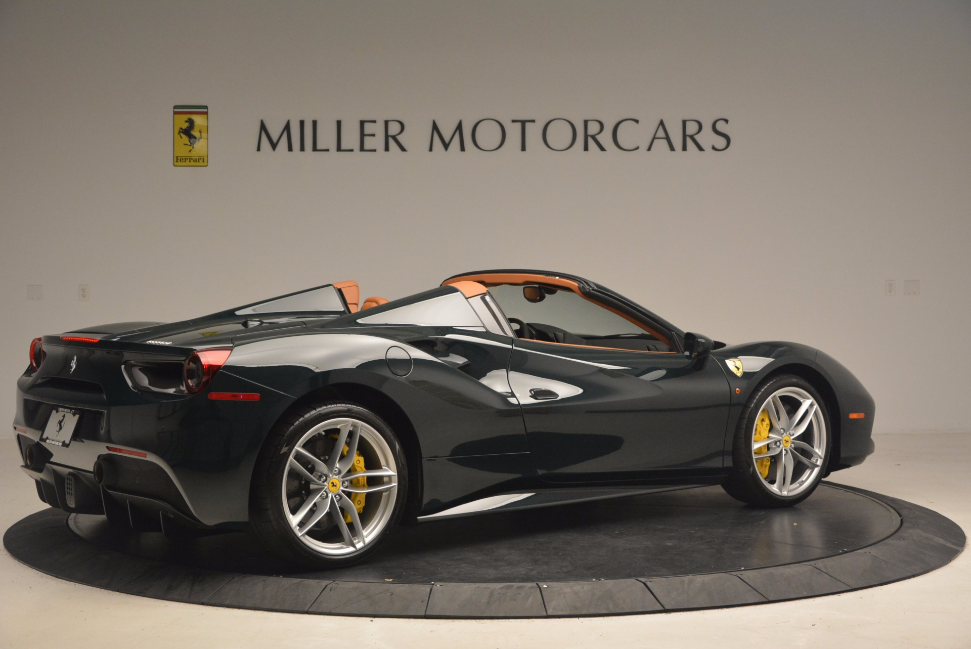 Used 2016 Ferrari 488 Spider  For Sale In Westport, CT 1361_p8