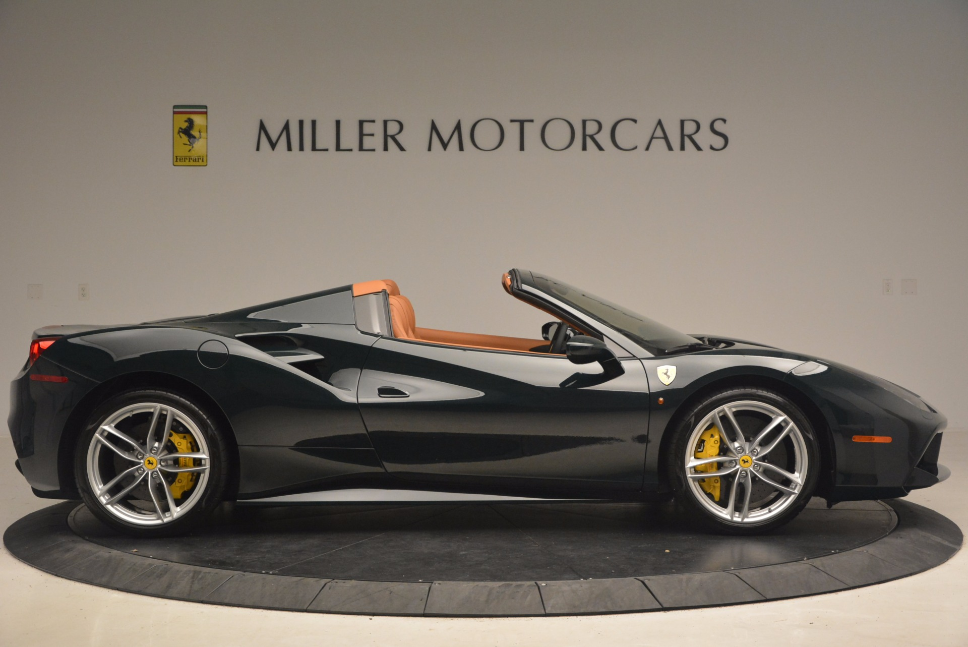 Used 2016 Ferrari 488 Spider  For Sale In Westport, CT 1361_p9