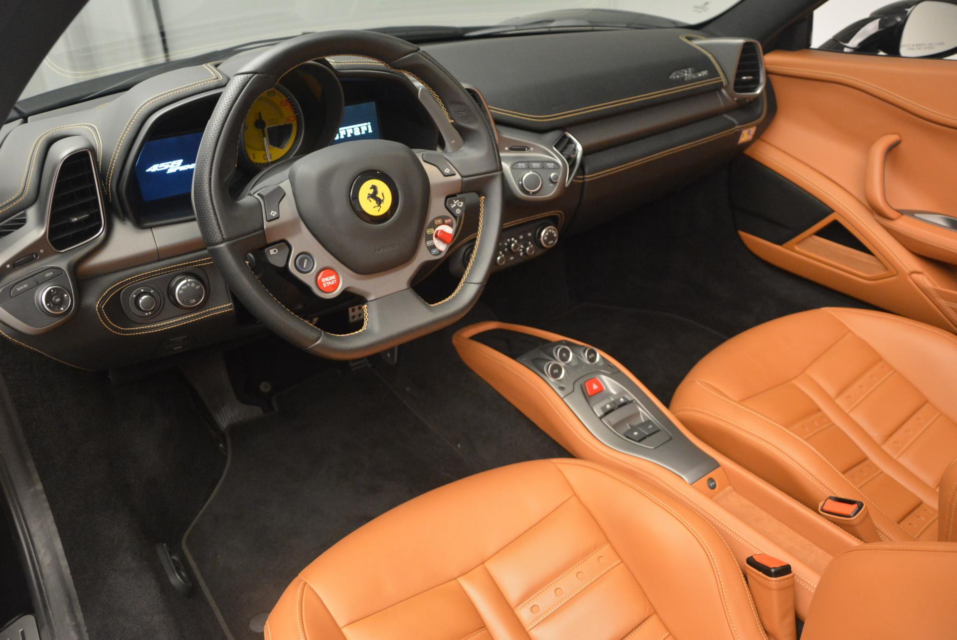 Used 2015 Ferrari 458 Spider  For Sale In Westport, CT 137_p25