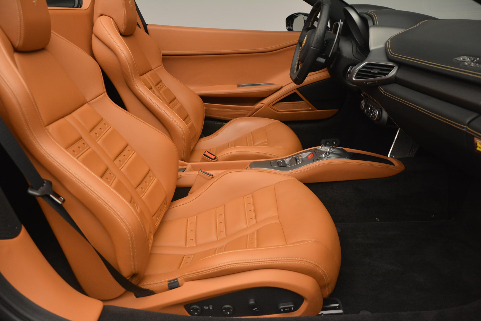 Used 2015 Ferrari 458 Spider  For Sale In Westport, CT 137_p30