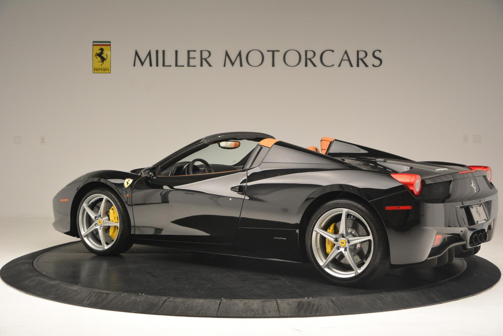 Used 2015 Ferrari 458 Spider  For Sale In Westport, CT 137_p4