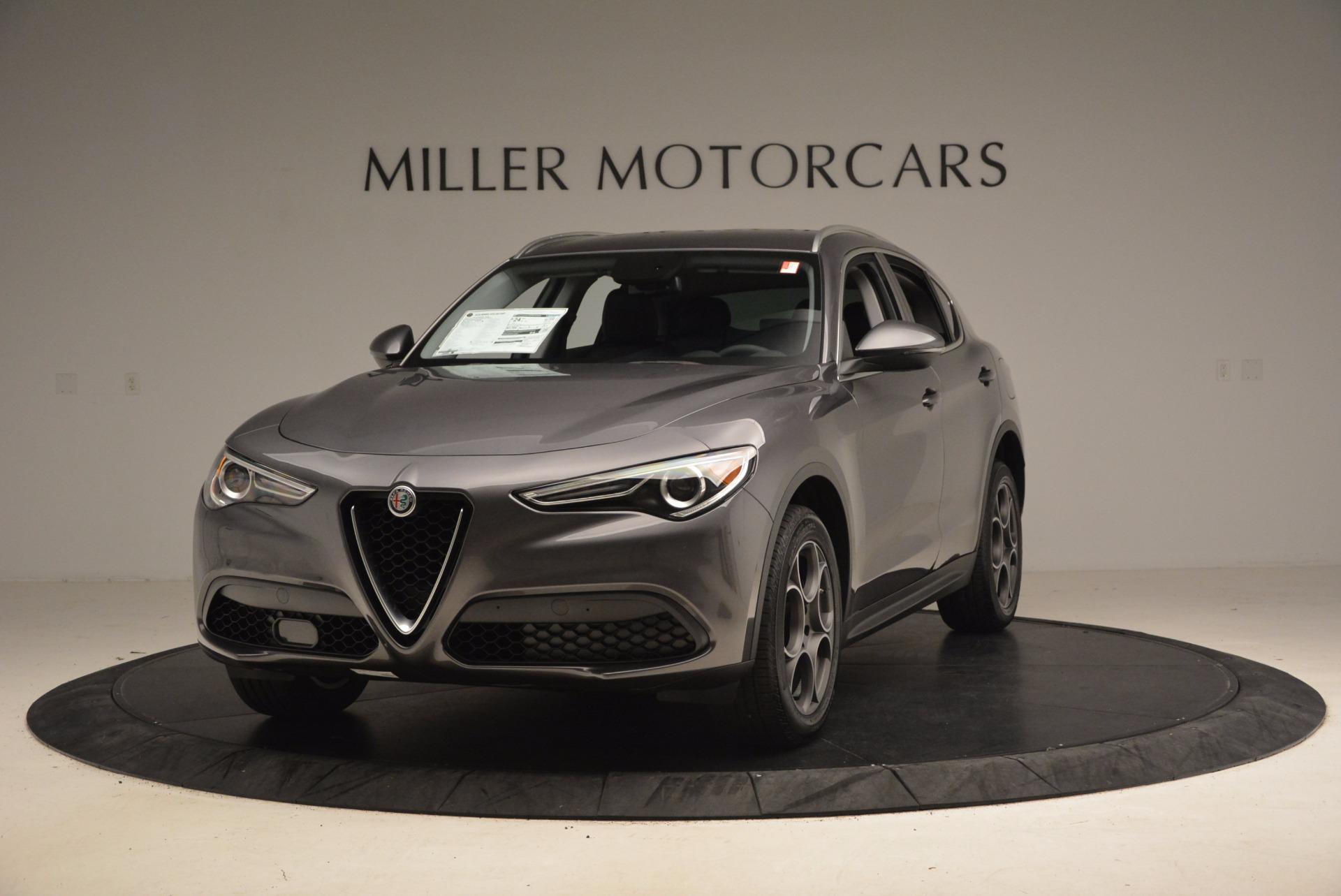 New 2018 Alfa Romeo Stelvio Q4 For Sale In Westport, CT 1376_main