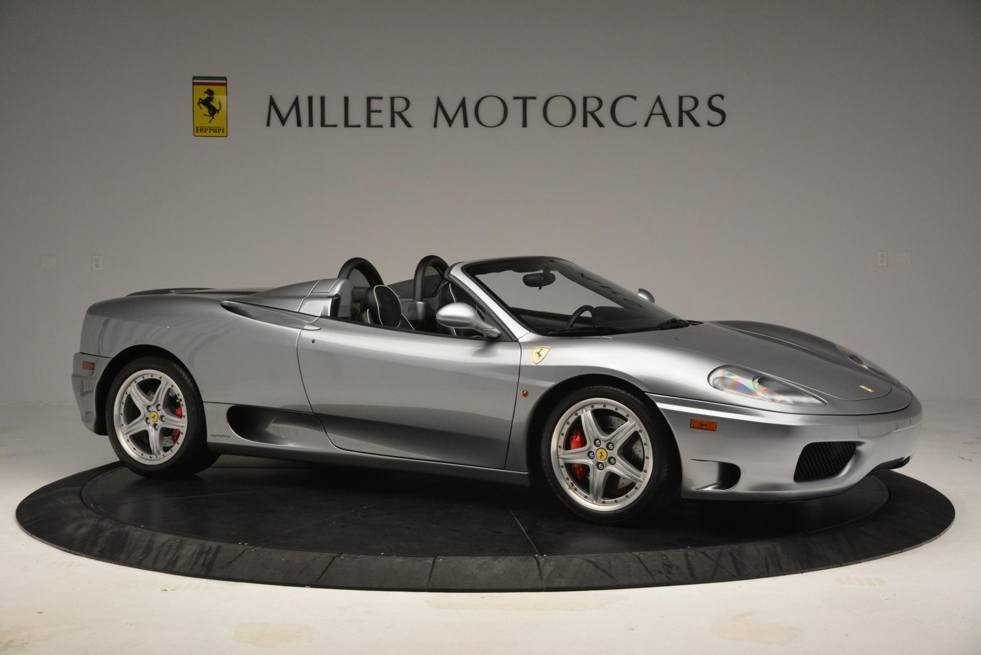Used 2004 Ferrari 360 Spider 6-Speed Manual  For Sale In Westport, CT 138_p10