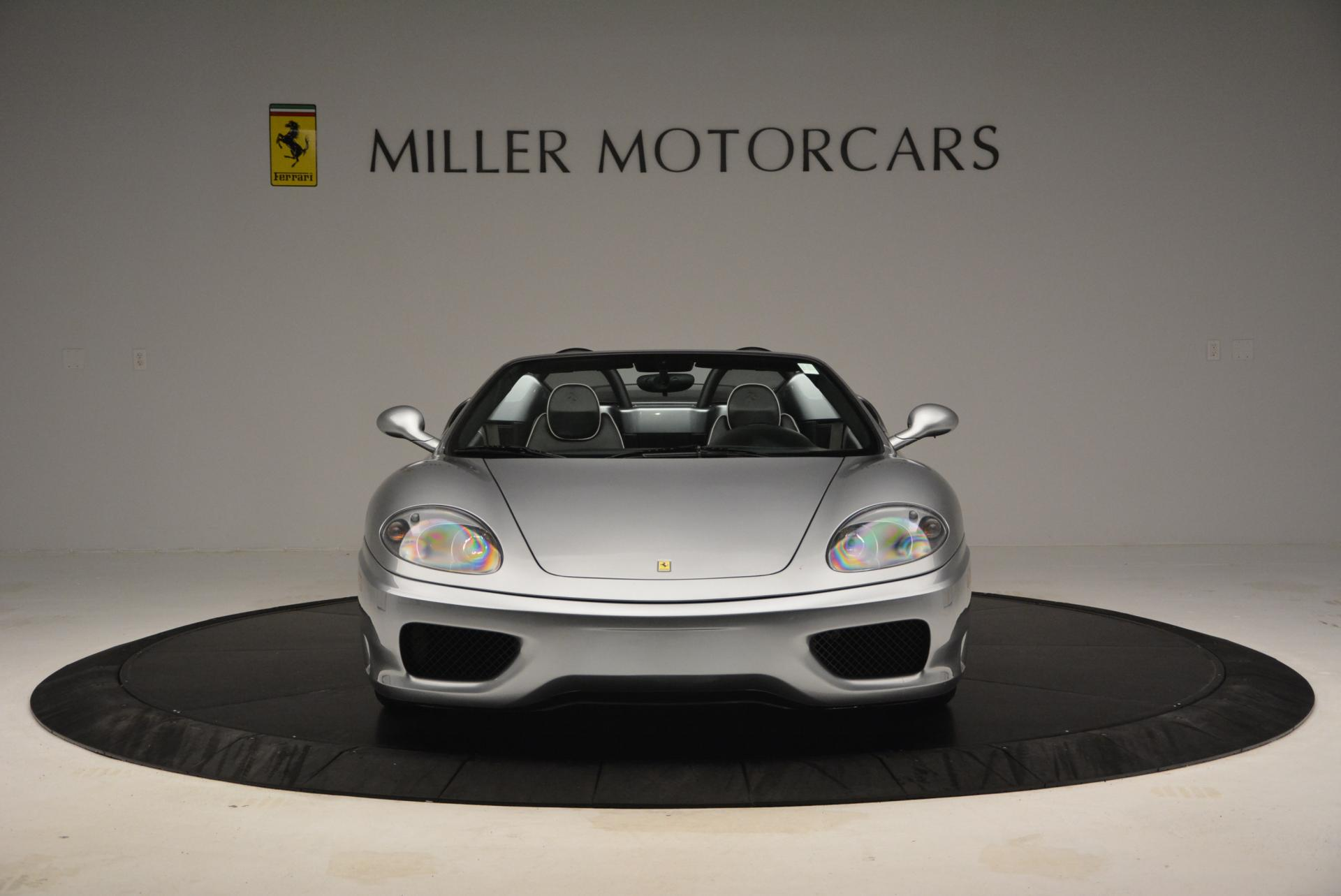Used 2004 Ferrari 360 Spider 6-Speed Manual  For Sale In Westport, CT 138_p12