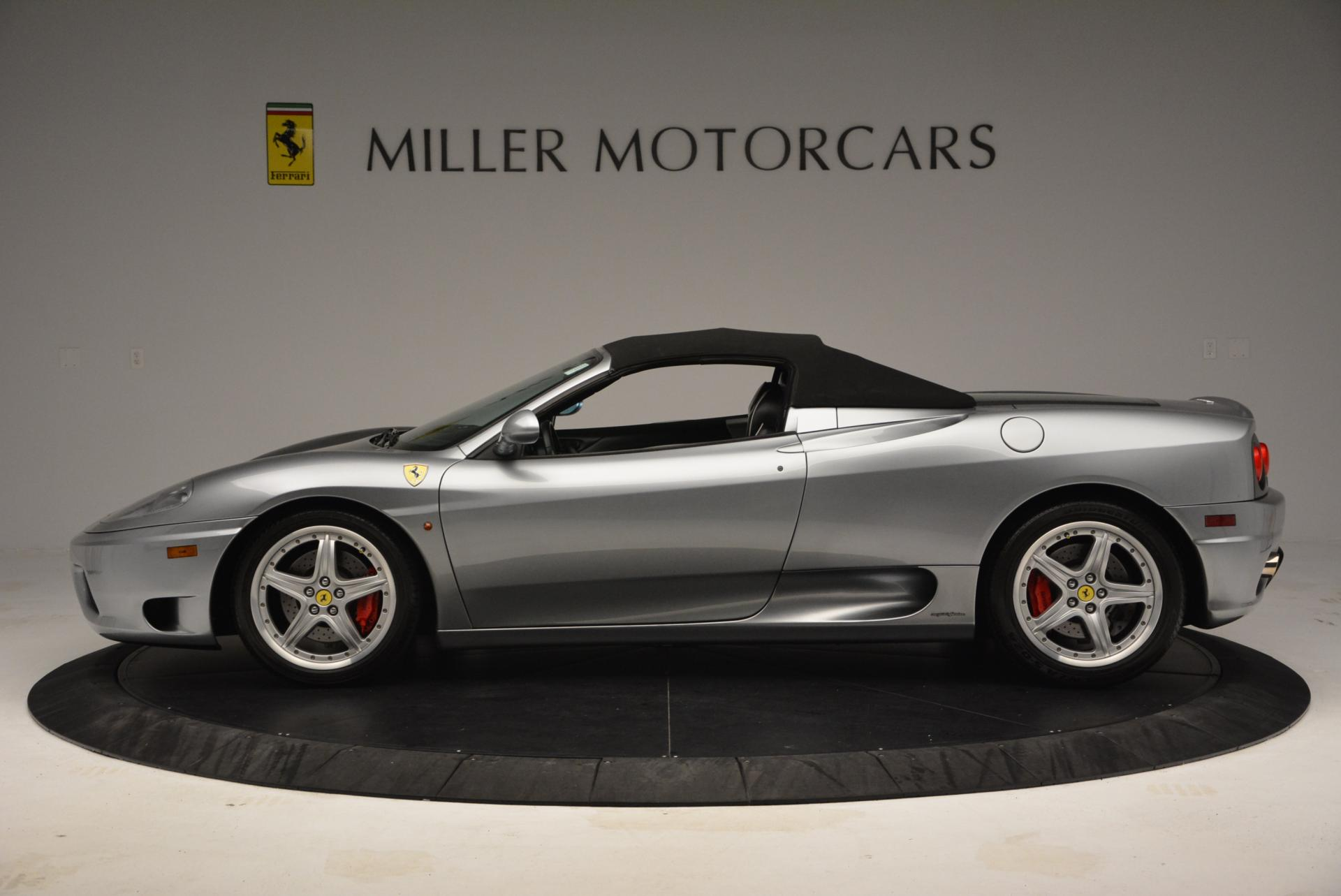 Used 2004 Ferrari 360 Spider 6-Speed Manual  For Sale In Westport, CT 138_p15
