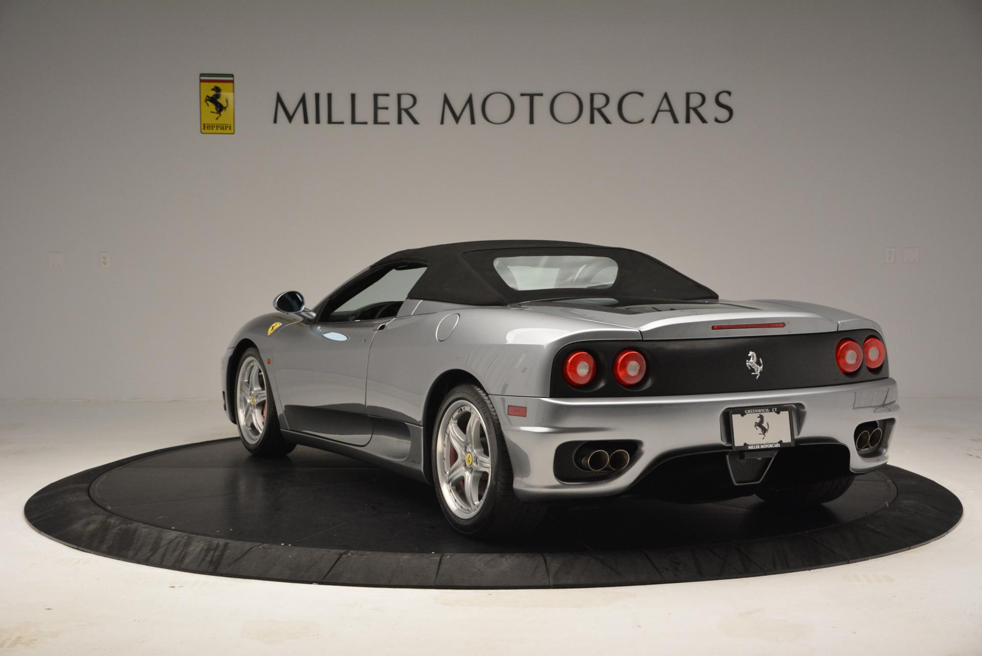 Used 2004 Ferrari 360 Spider 6-Speed Manual  For Sale In Westport, CT 138_p17