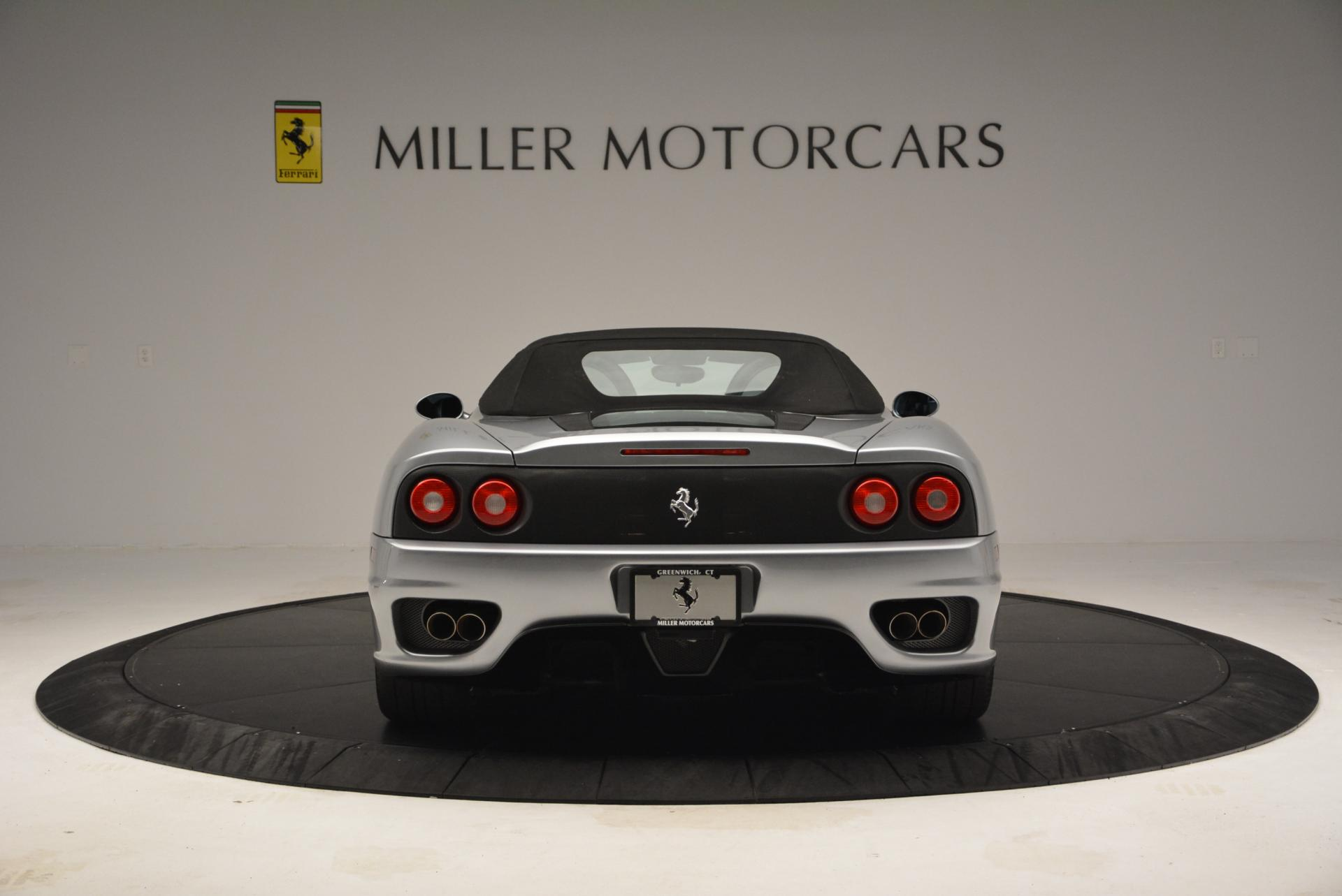 Used 2004 Ferrari 360 Spider 6-Speed Manual  For Sale In Westport, CT 138_p18