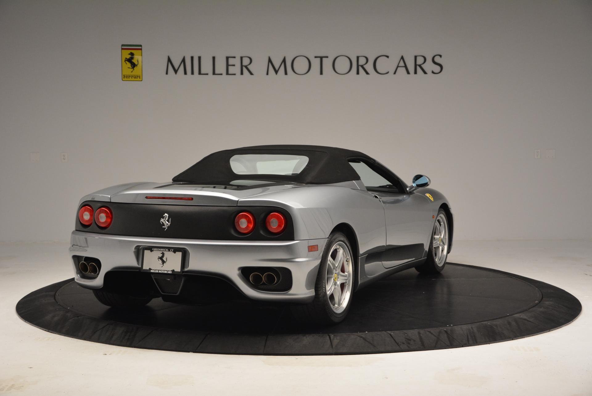 Used 2004 Ferrari 360 Spider 6-Speed Manual  For Sale In Westport, CT 138_p19