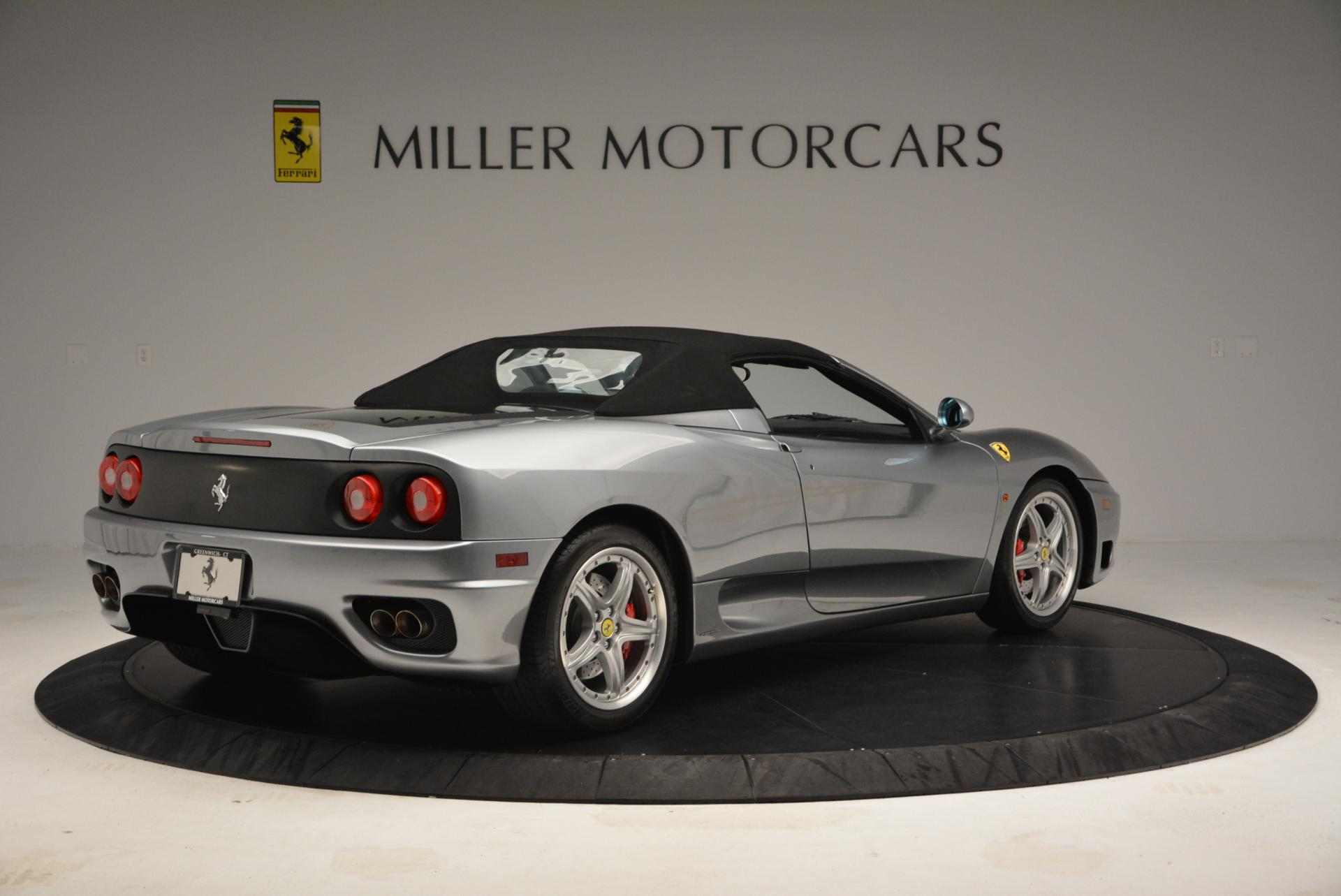 Used 2004 Ferrari 360 Spider 6-Speed Manual  For Sale In Westport, CT 138_p20