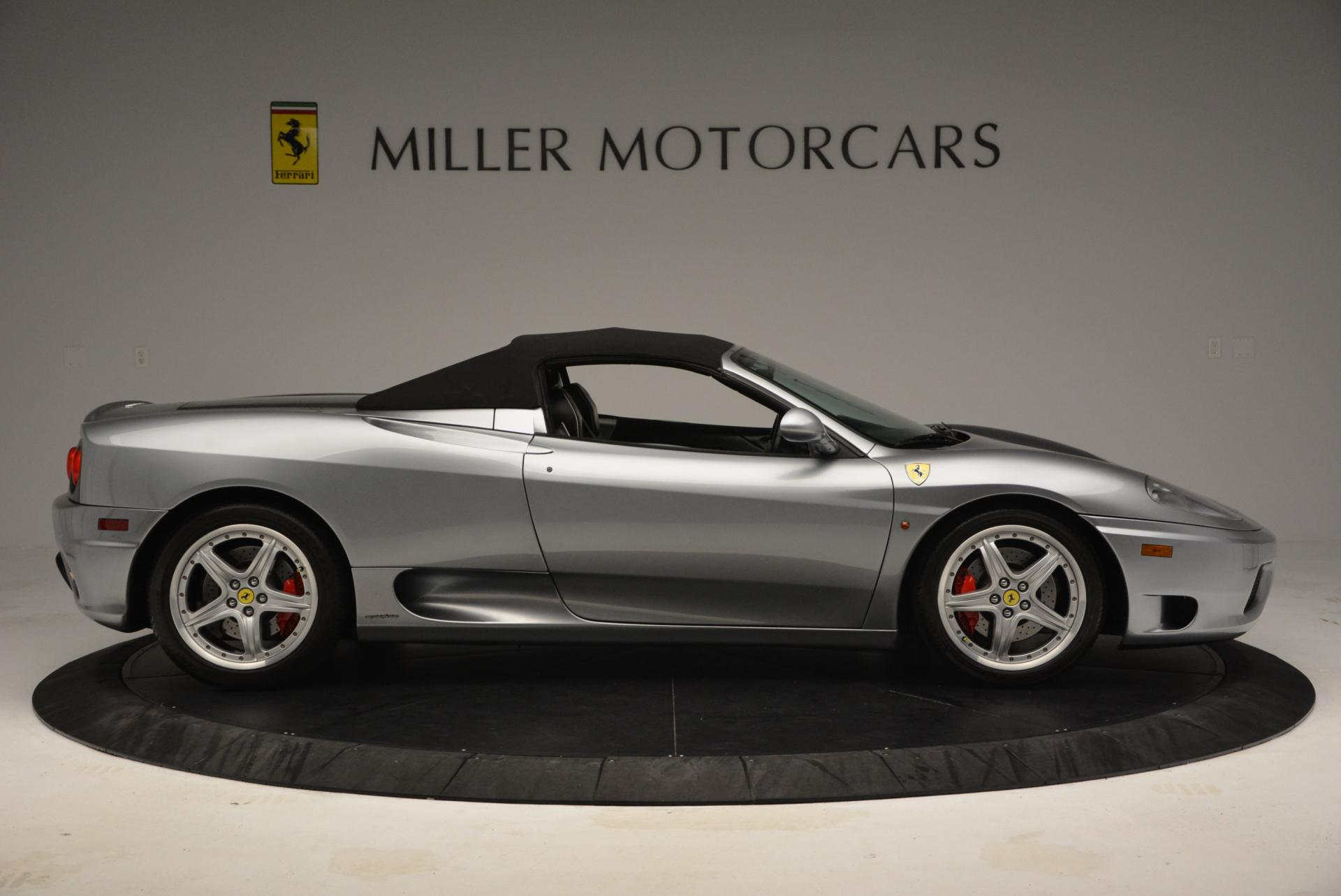 Used 2004 Ferrari 360 Spider 6-Speed Manual  For Sale In Westport, CT 138_p21